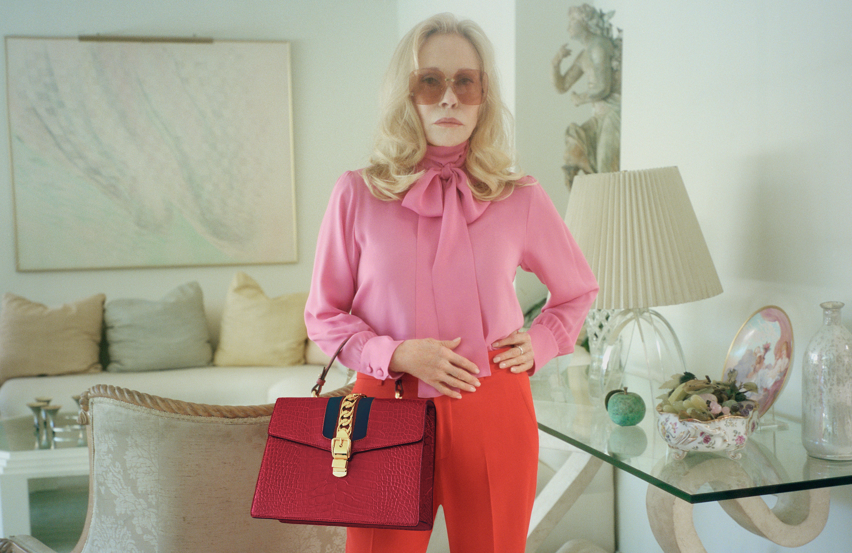 Gucci Fall Ad Campaign with Faye Dunaway