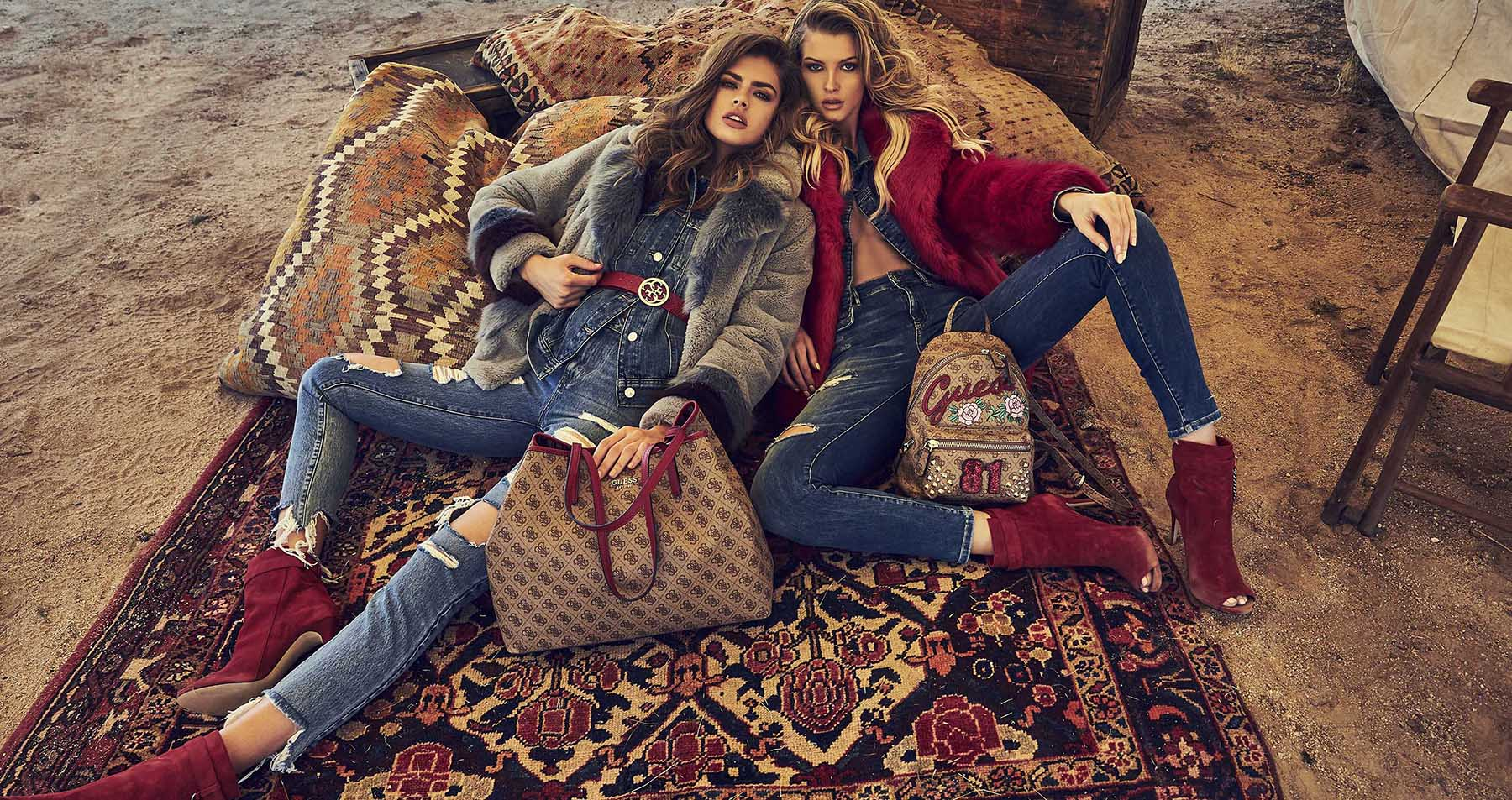 Guess Fall 2018 Ad Campaign by Josh Ryan
