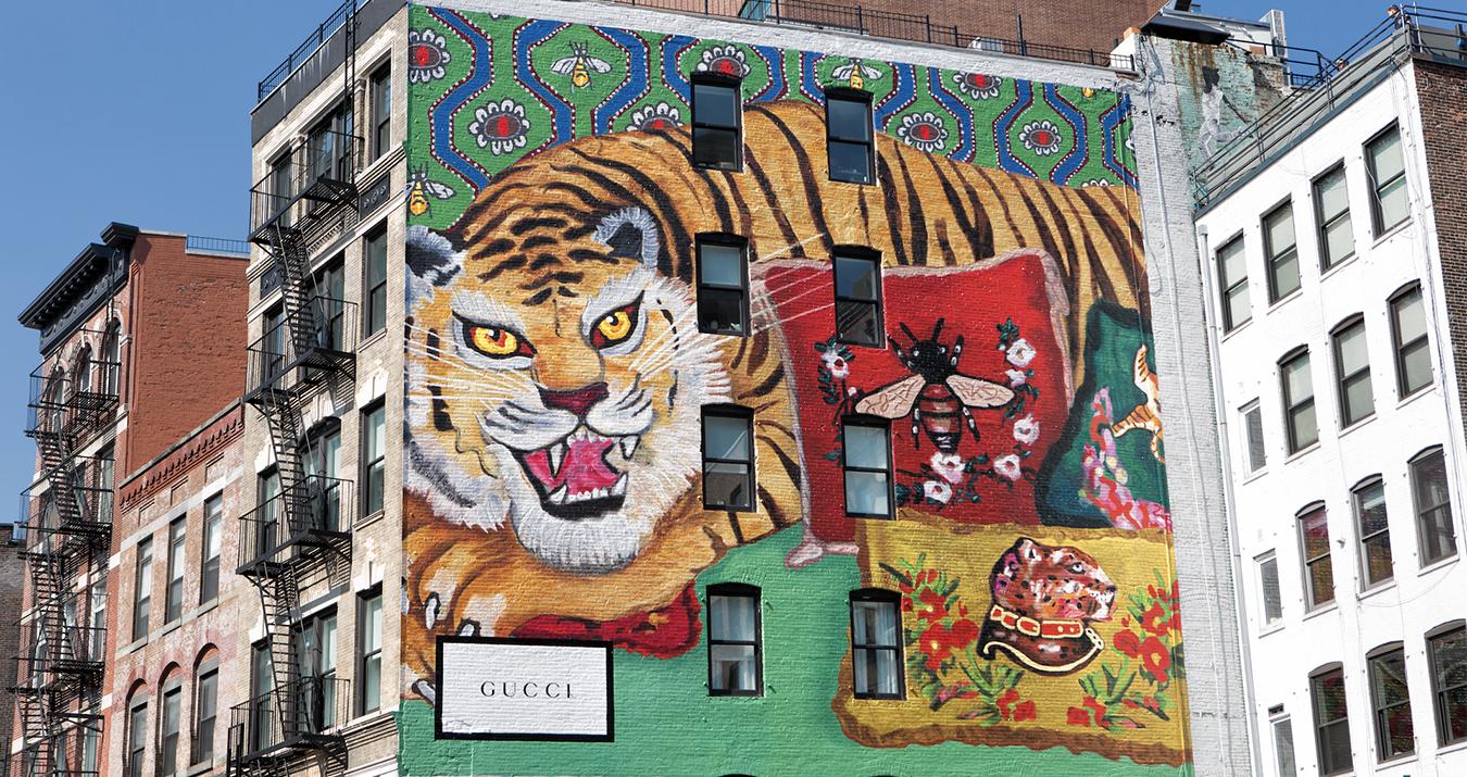 Gucci Décor Illustrations Featured on ArtWalls
