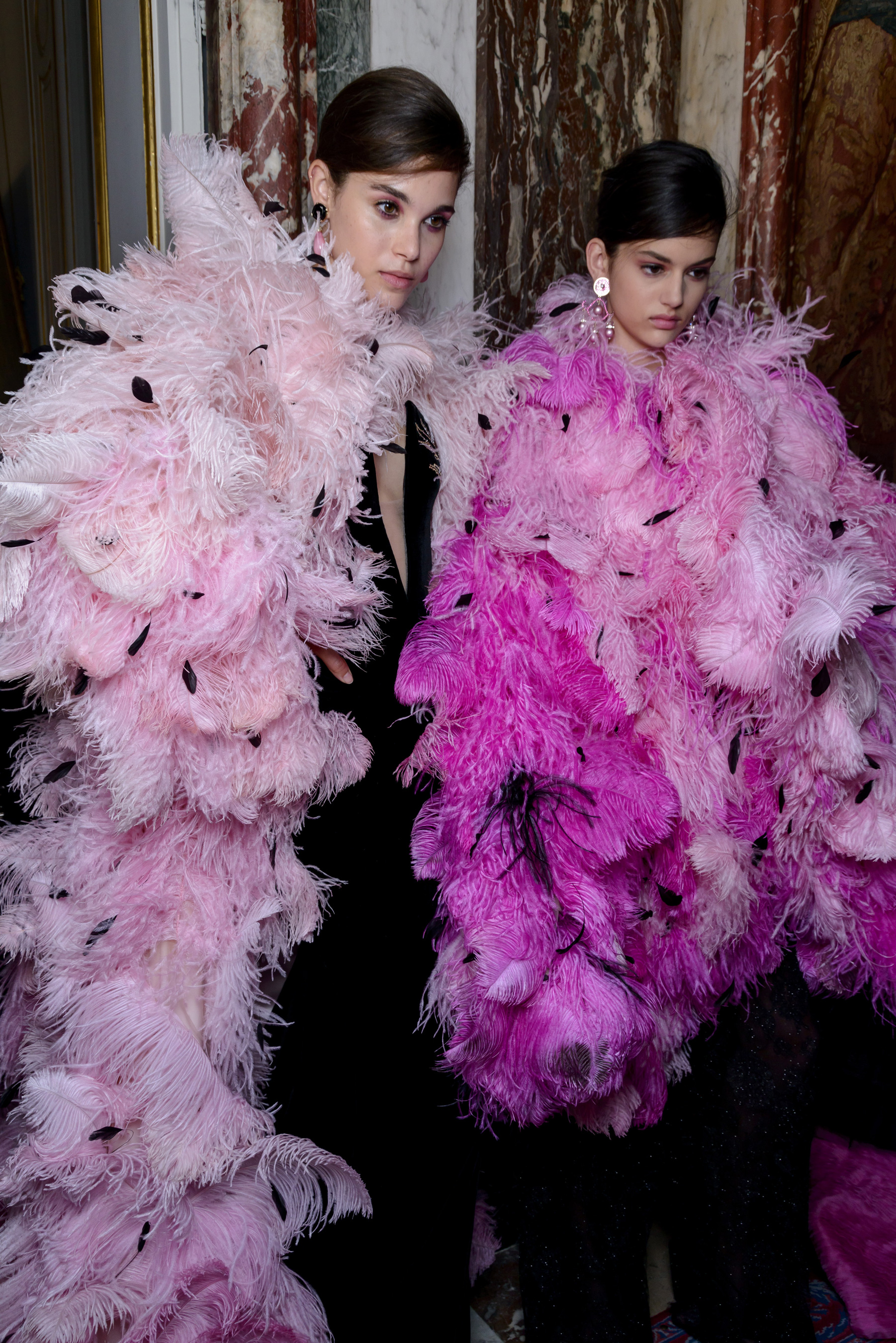 Giorgio Armani Prive Fall 2018 Couture Fashion Show Backstage