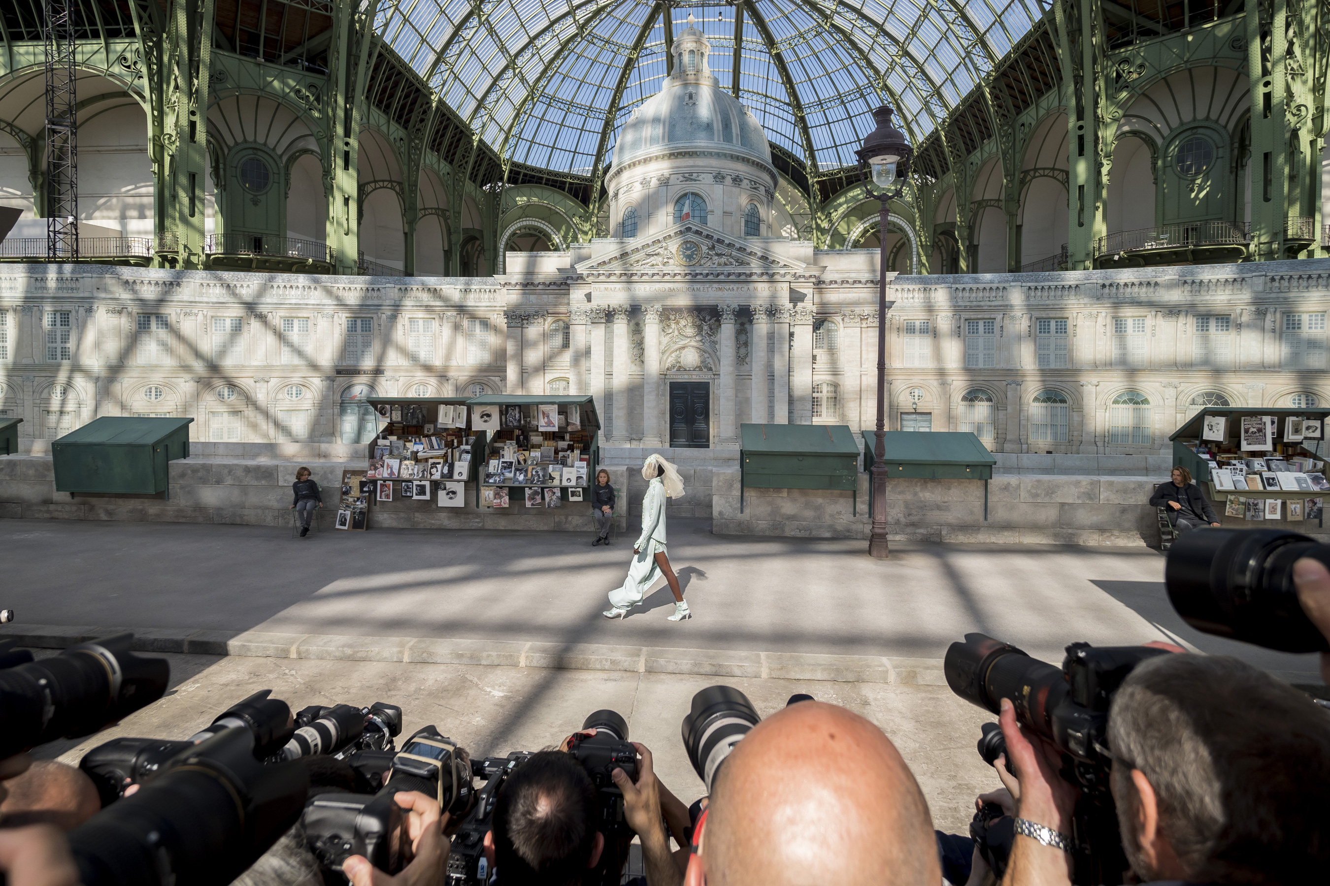 Chanel Fall 2018 Couture Fashion Show Atmosphere