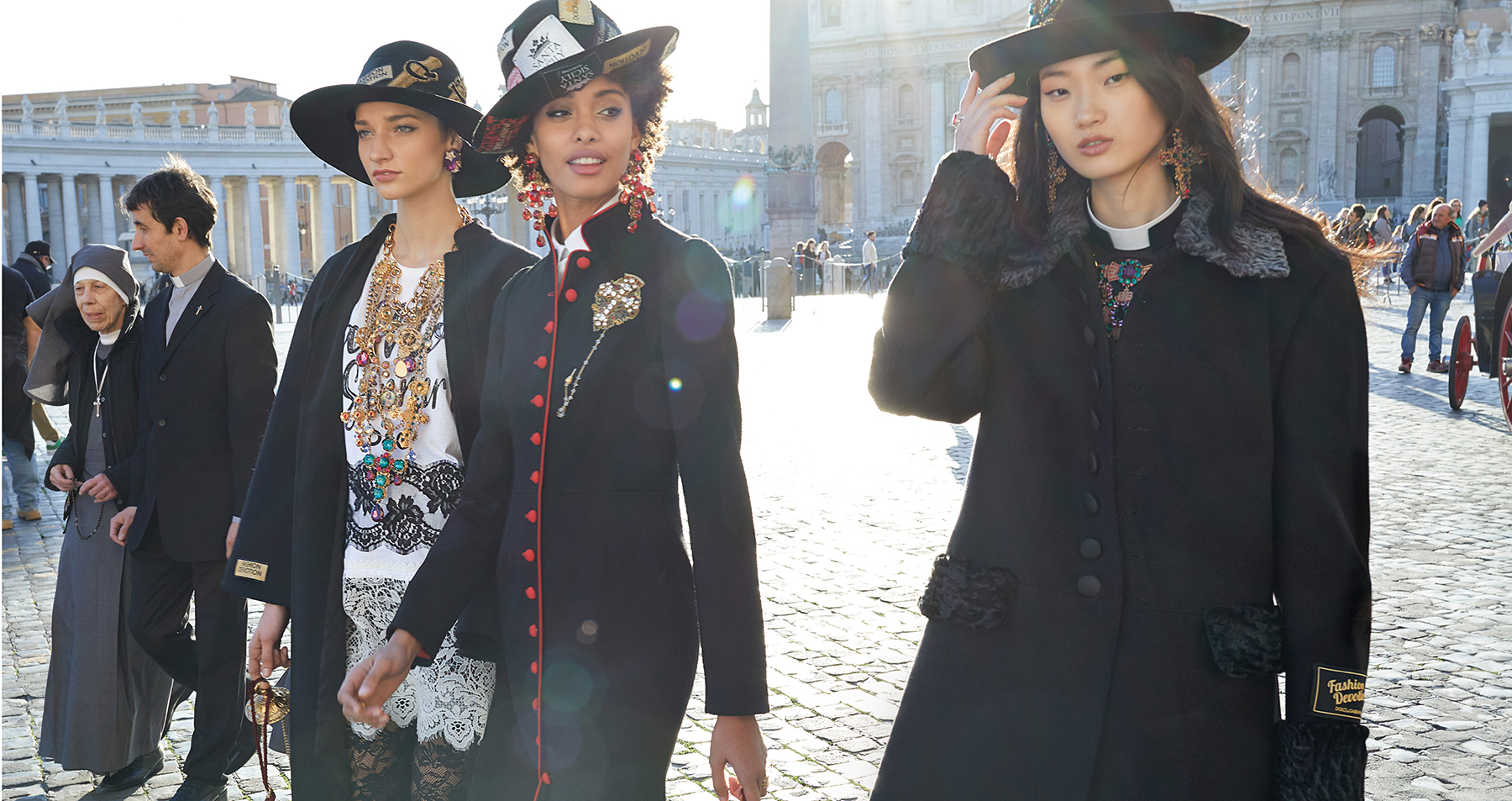Dolce & Gabbana Fall 2018 Ad Campaign by Luca & Alessandro Morelli