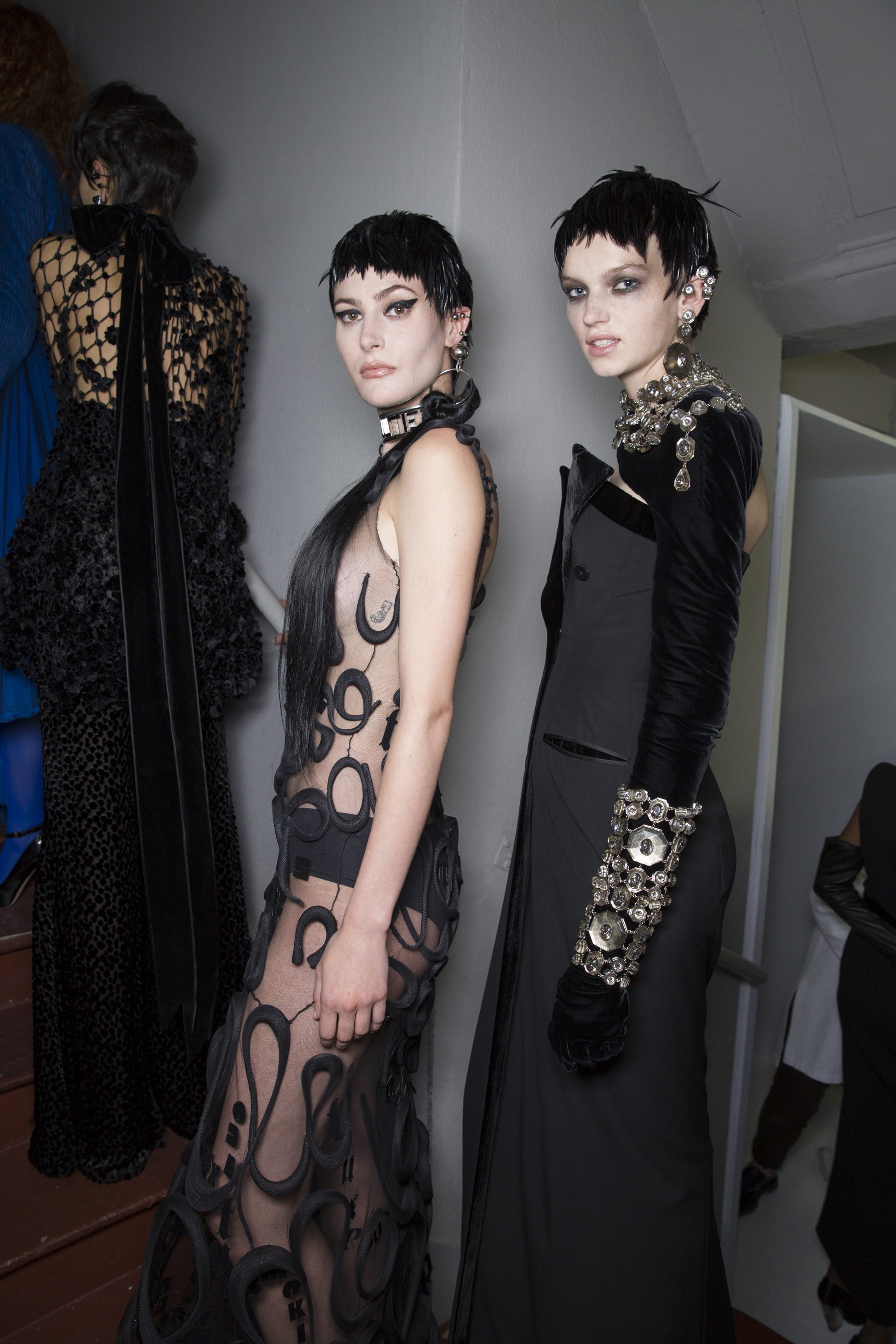 Jean Paul Gaultier Fall 2018 Couture Fashion Show Backstage