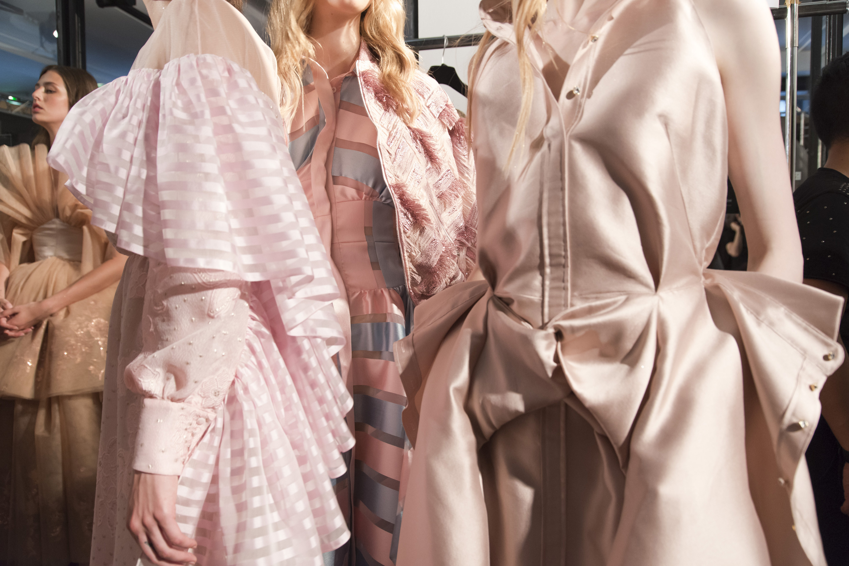 Alexis Mabille Fall 2018 Couture Fashion Show Backstage