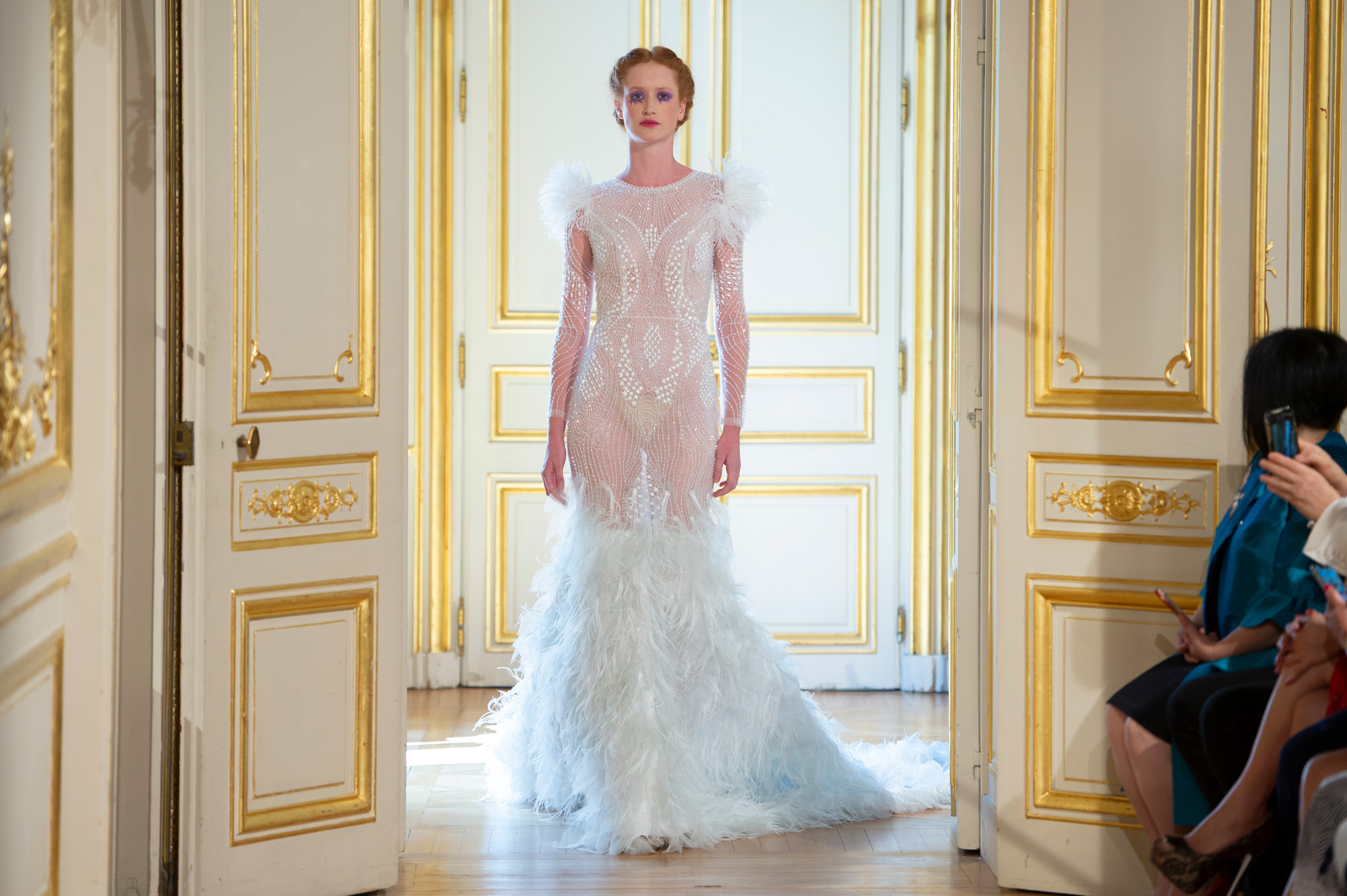 Patrick Pham Fall 2018 Couture Fashion Show Atmosphere