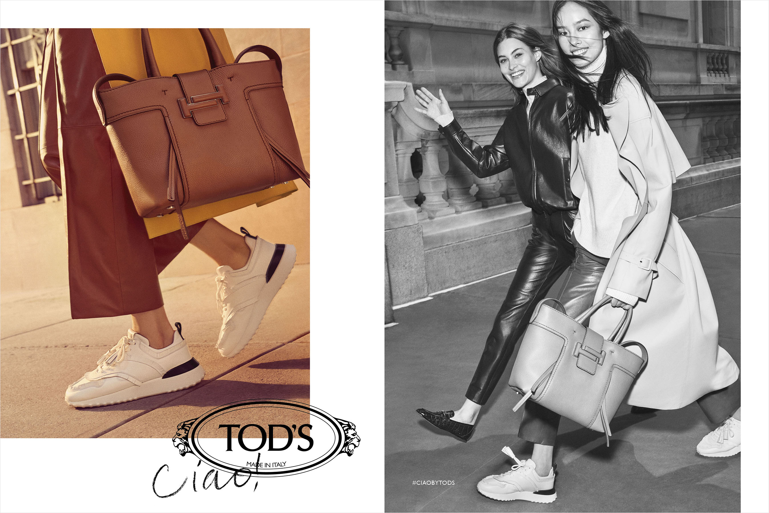 Tod's Fall 2018 Ad Campaign by Craig McDean