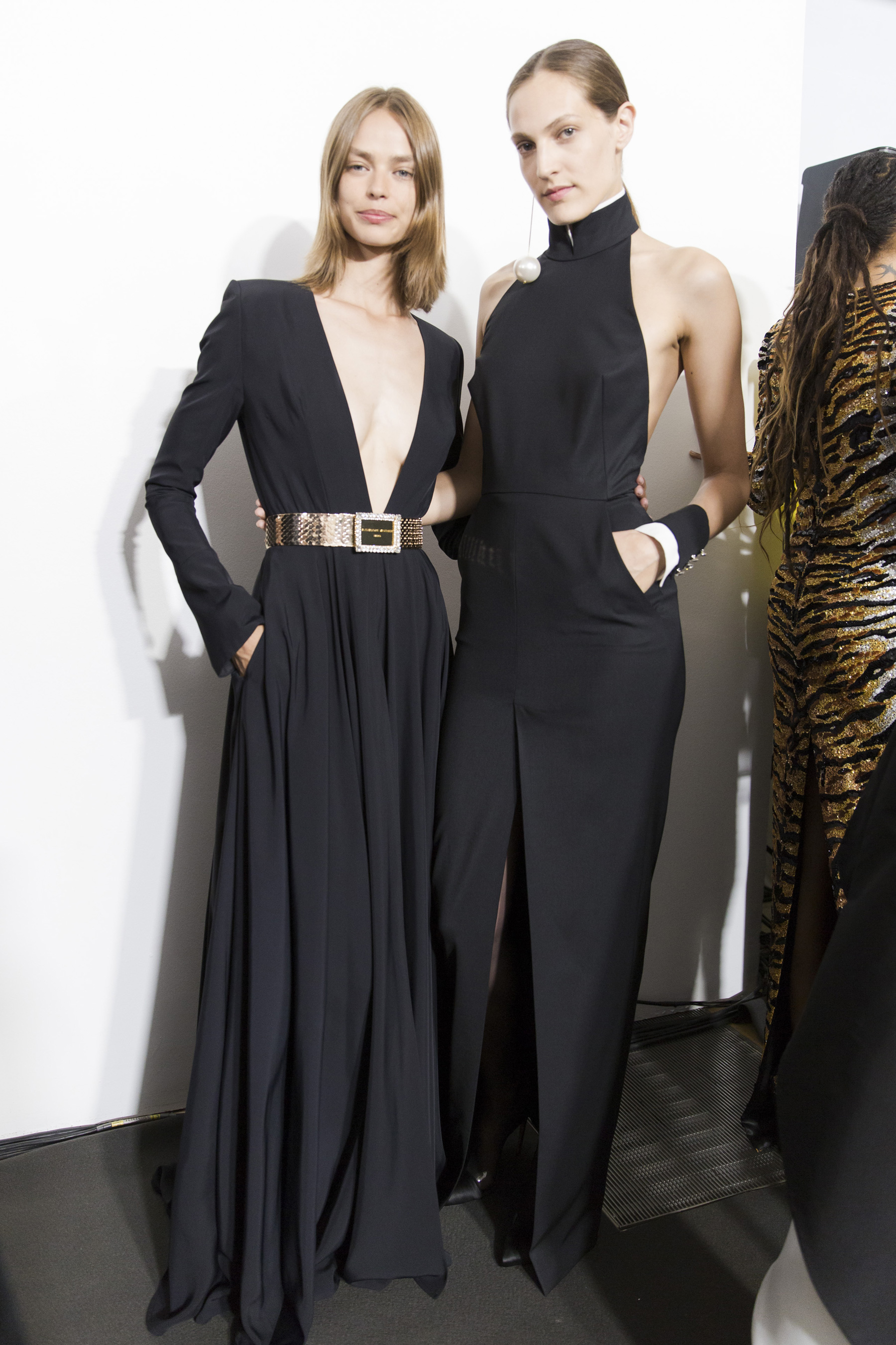 Alexandre Vauthier Fall 2018 Couture Fashion Show Backstage