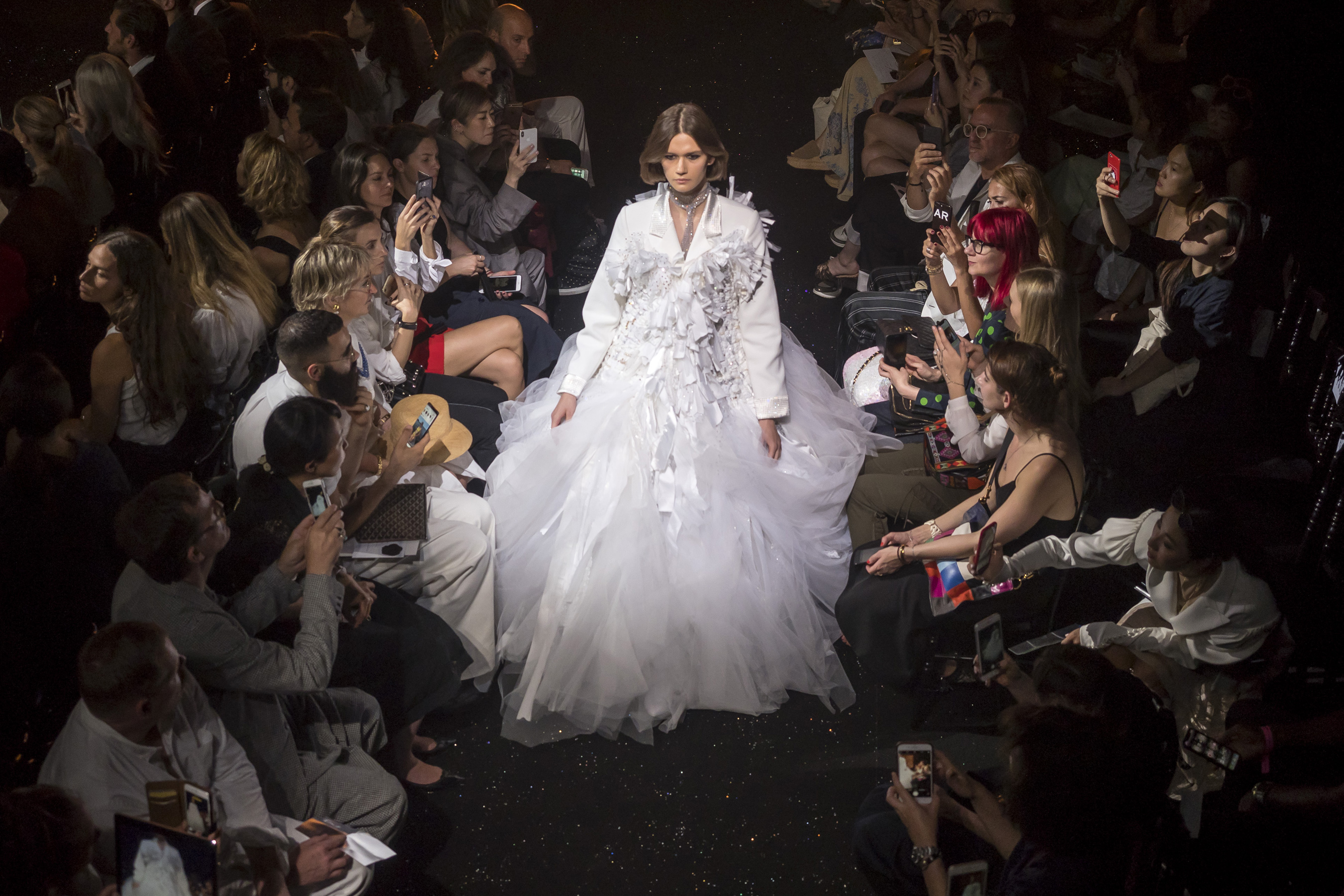 Viktor & Rolf Fall 2018 Couture Fashion Show Atmosphere