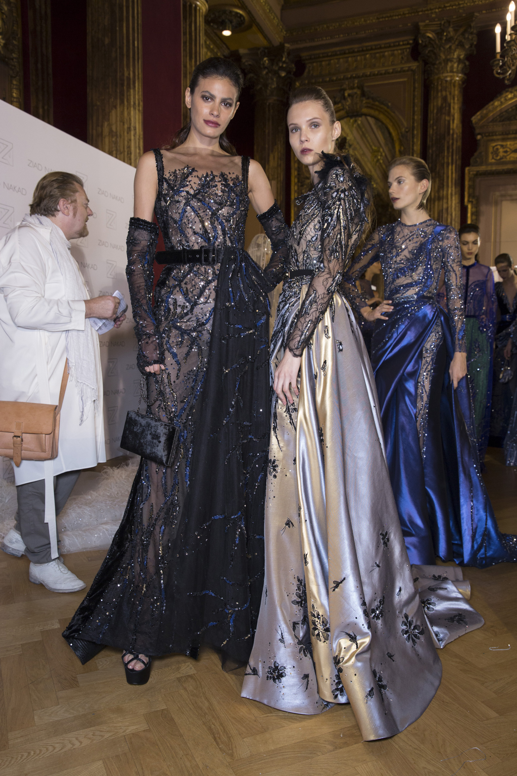 Ziad Nakad Fall 2018 Couture Fashion Show Backstage