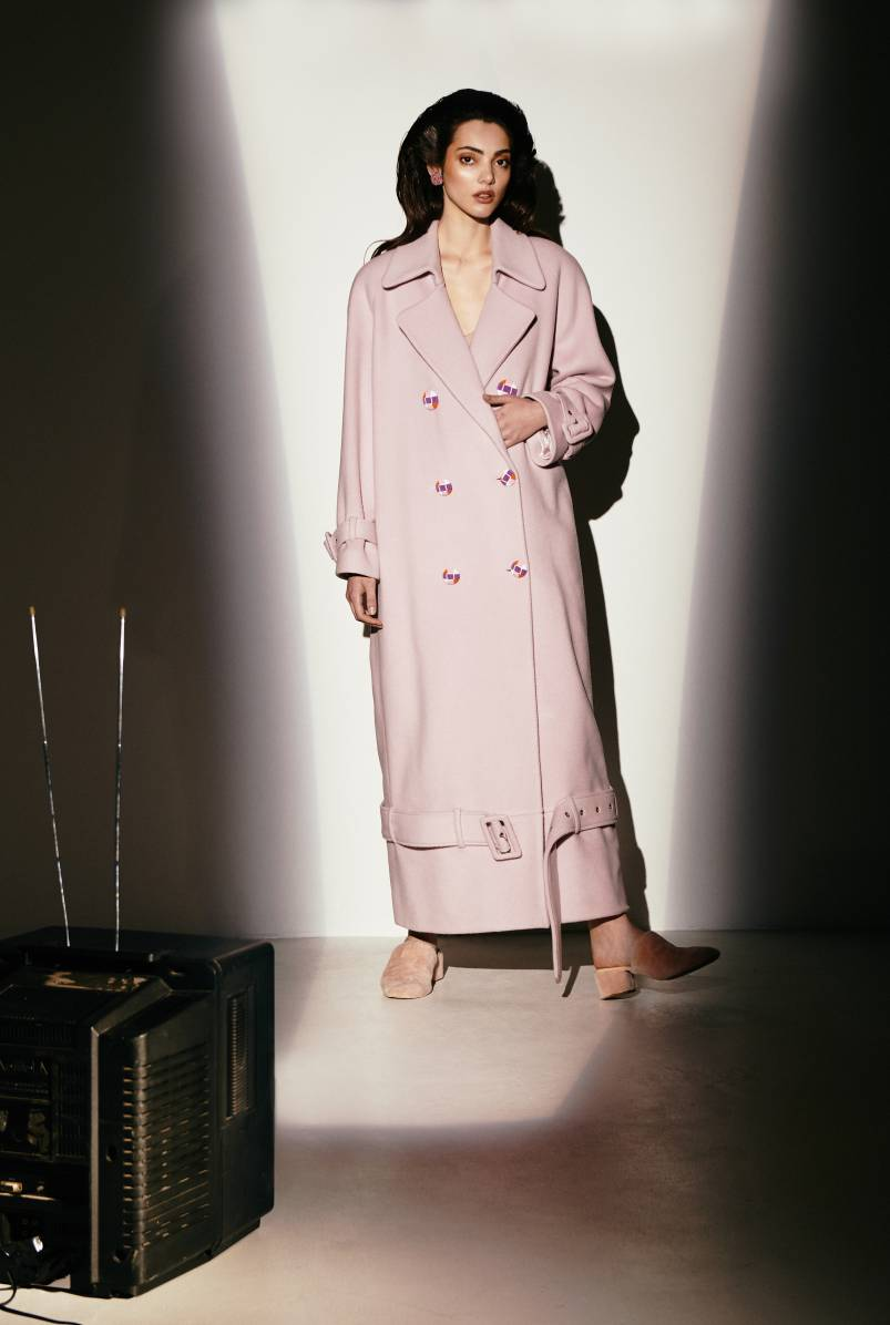Coat by Katya Silchenko Fall 2018 Collection