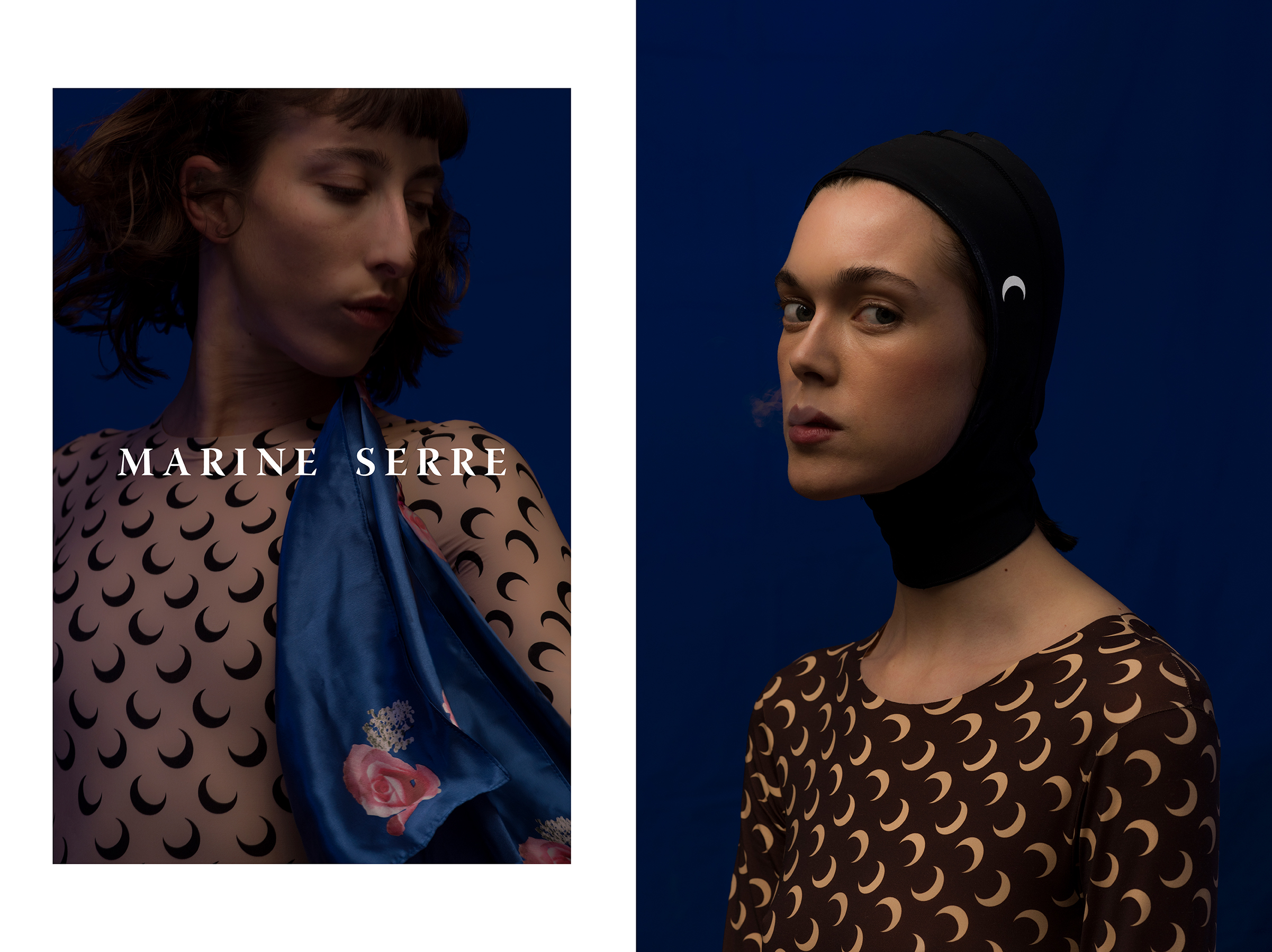 Marine Serre Fall 2018 Ad Campaign by Tanguy Poujol