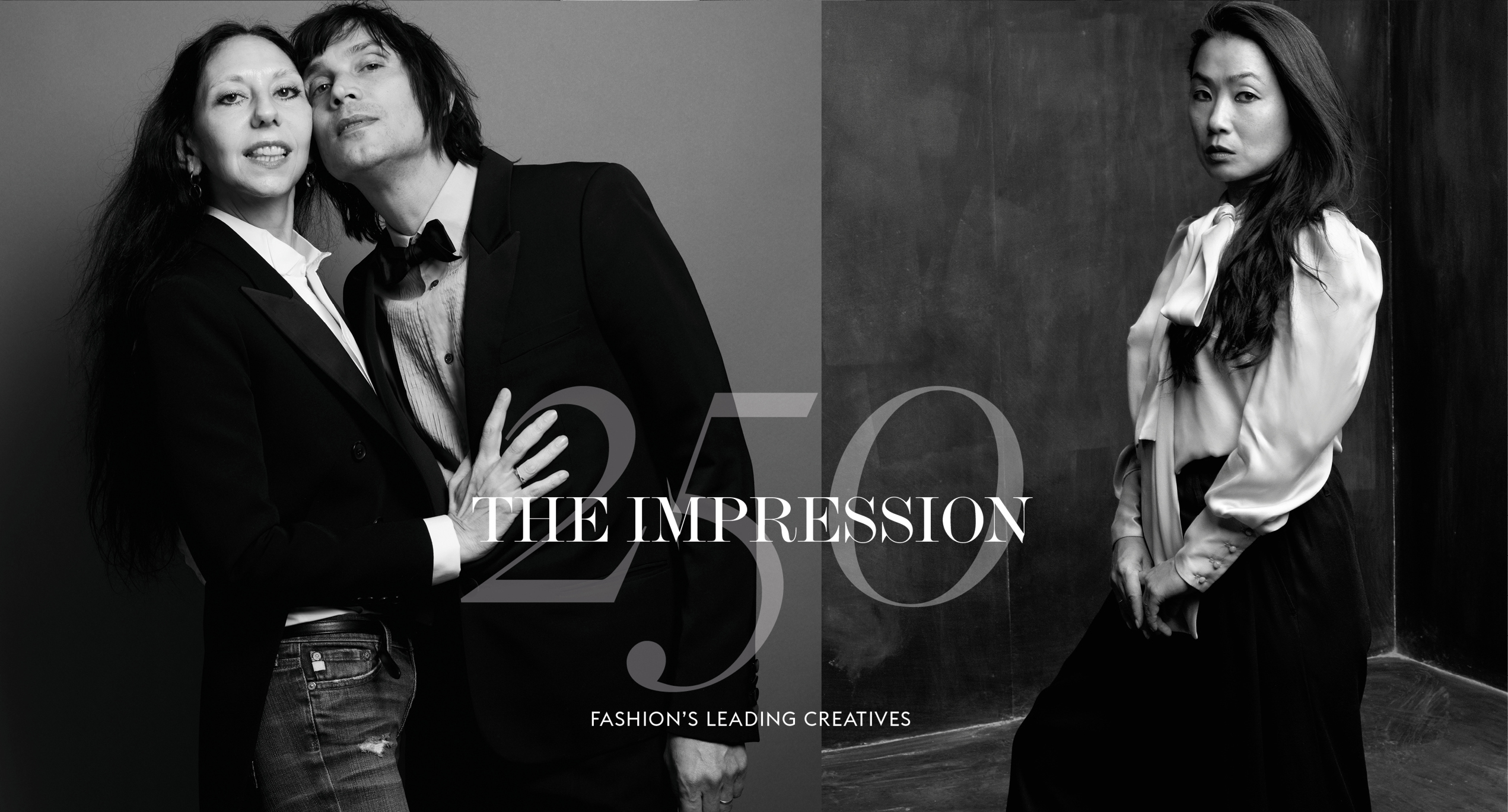 The Impression 250 Magazine celebrating the Top 250 Fashion Creatives today