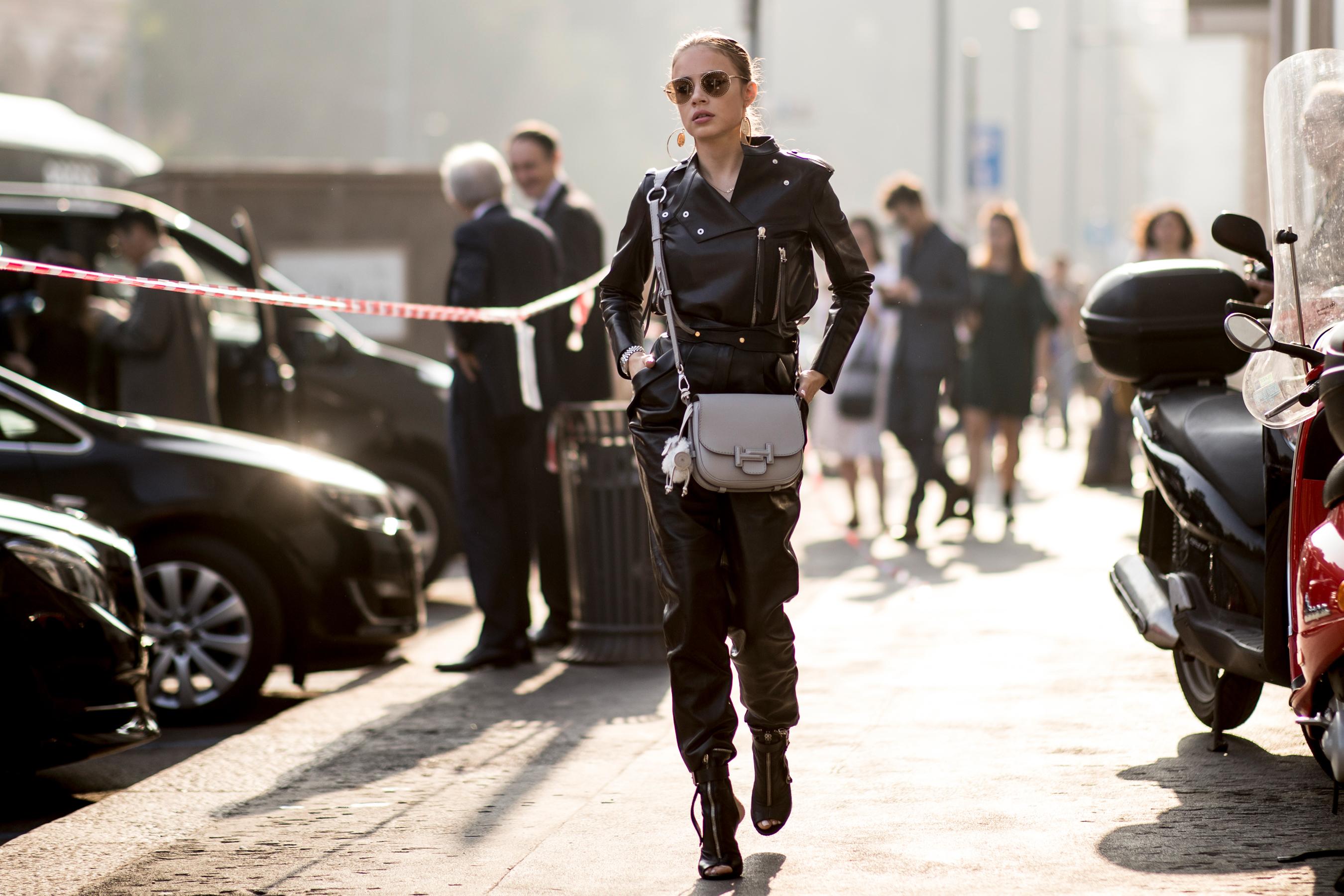 Milan Fashion Week Street Style Spring 2019 Day 3