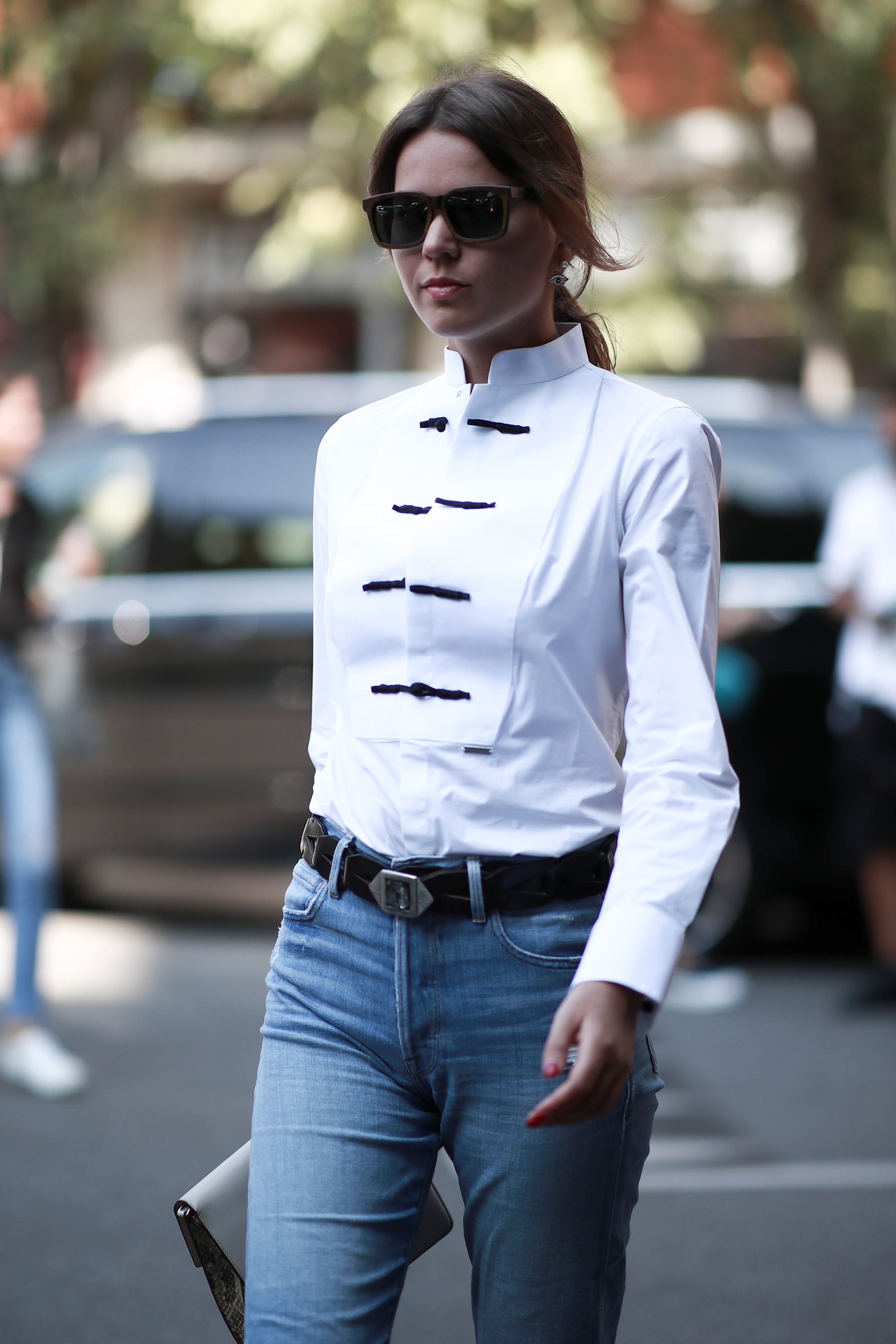 Milan Fashion Week Street Style Spring 2019 Day 5