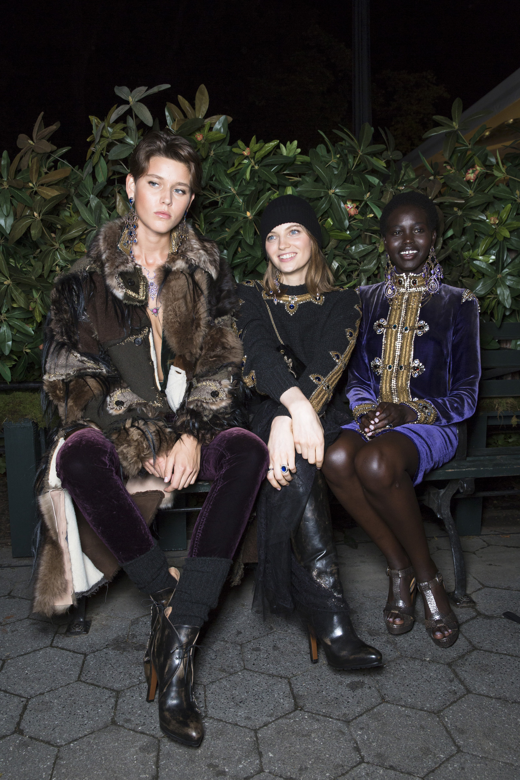 Ralph Lauren Fall 2018 50th Anniversary Fashion Show Backstage