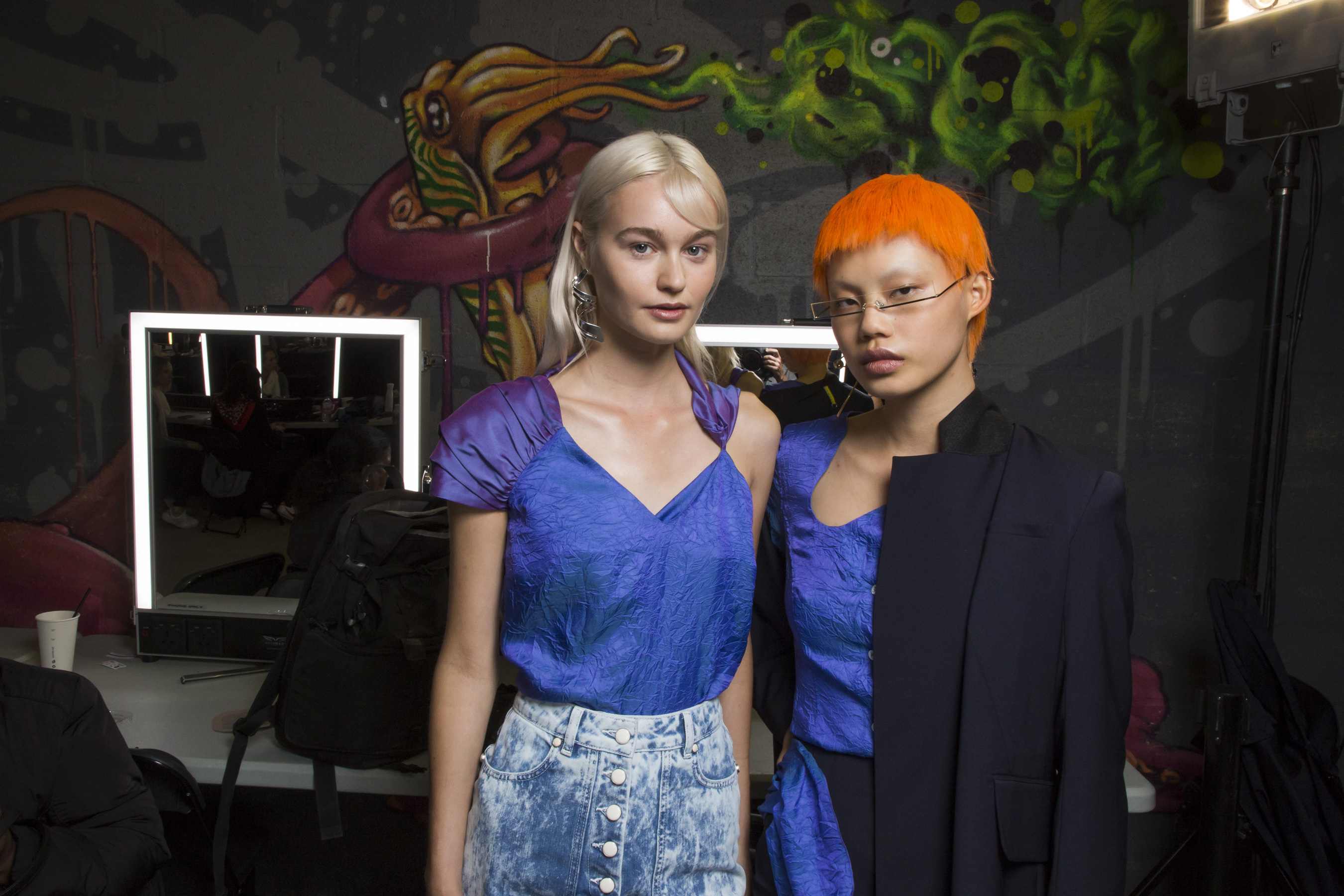 Aalto Spring 2019  Fashion Show Backstage