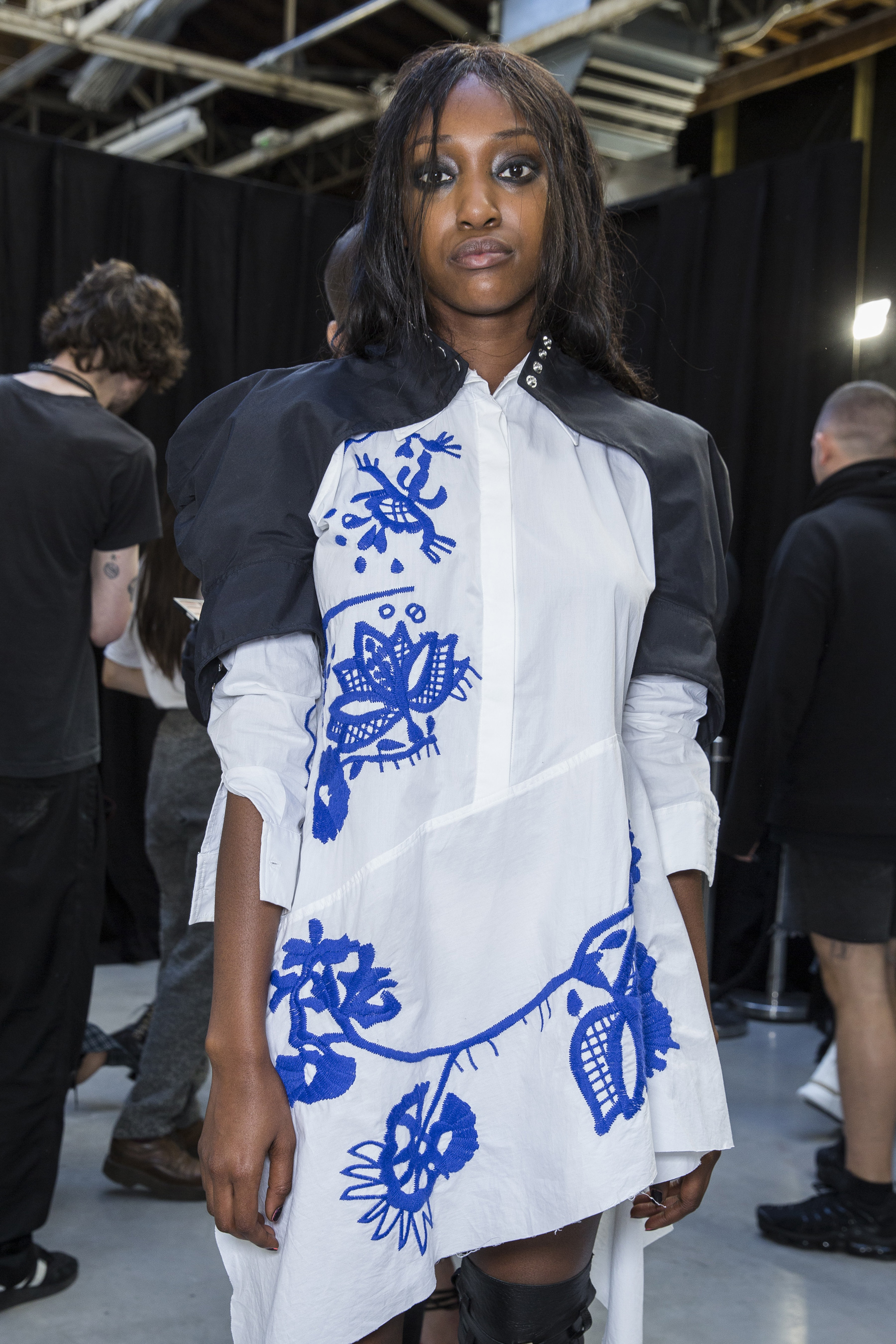 Marques Almeida Spring 2019  Fashion Show Backstage