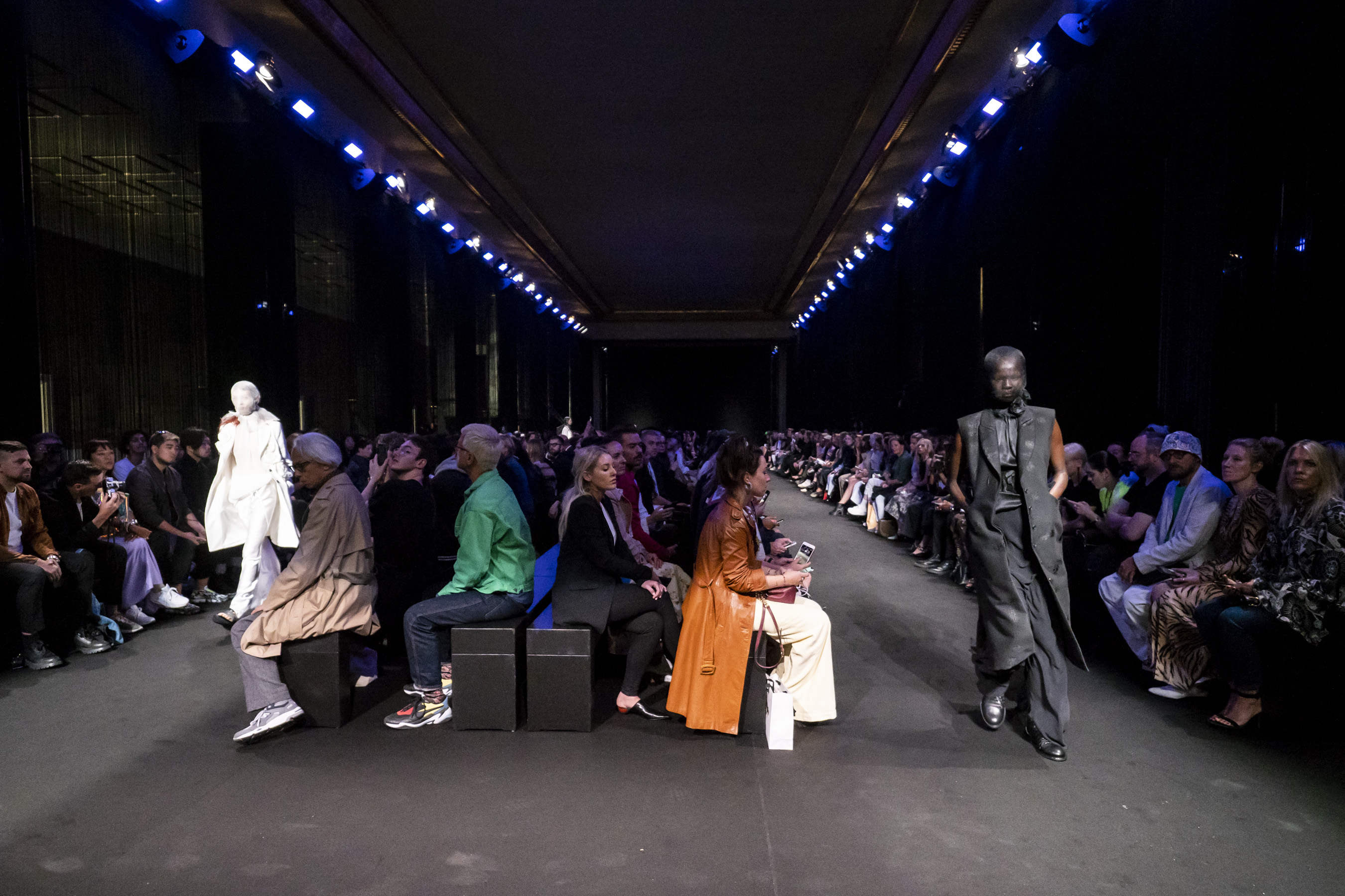 Ann Demeulemeester Spring 2019  Fashion Show Atmosphere