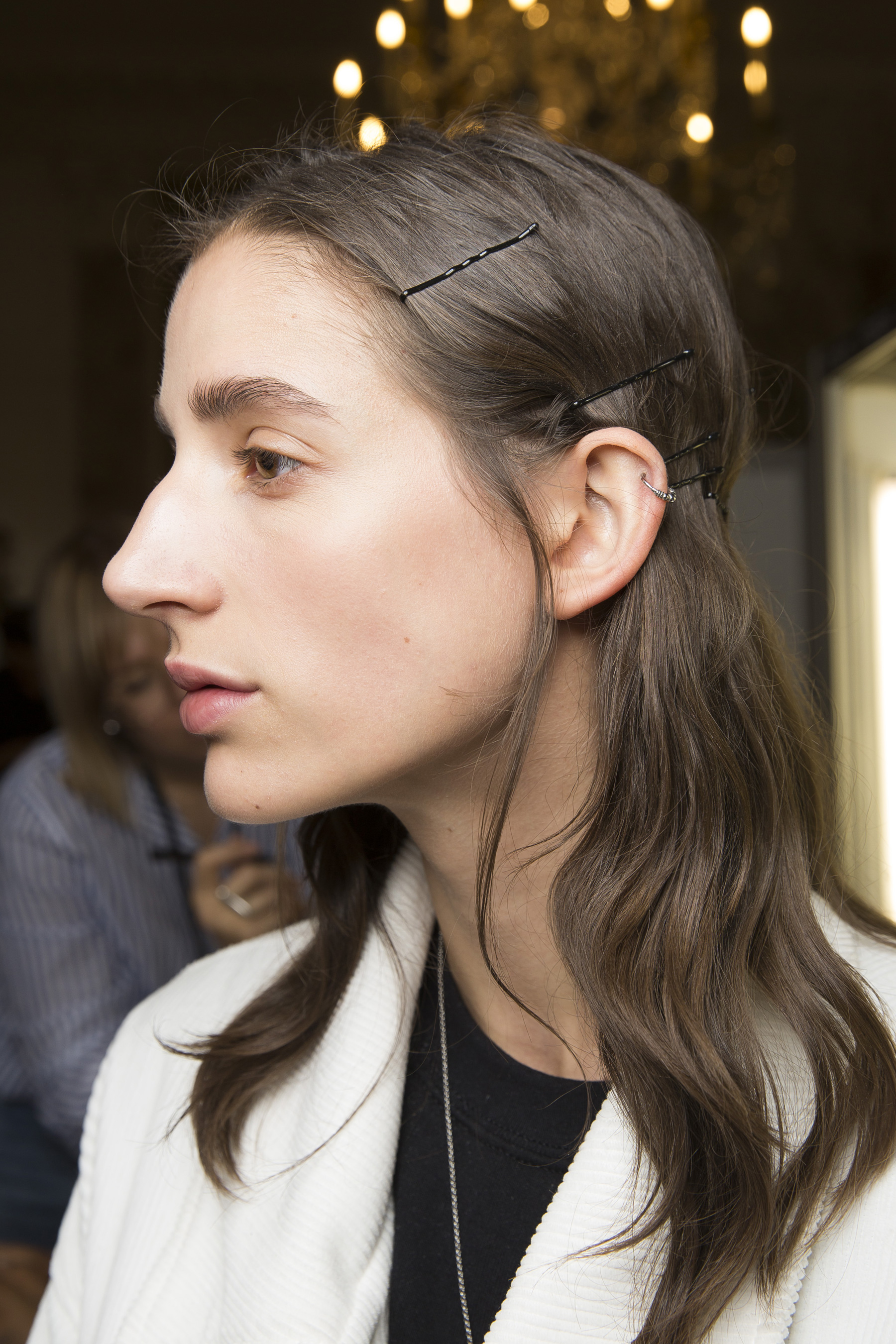 Cedric Charlier Spring 2019  Fashion Show Backstage
