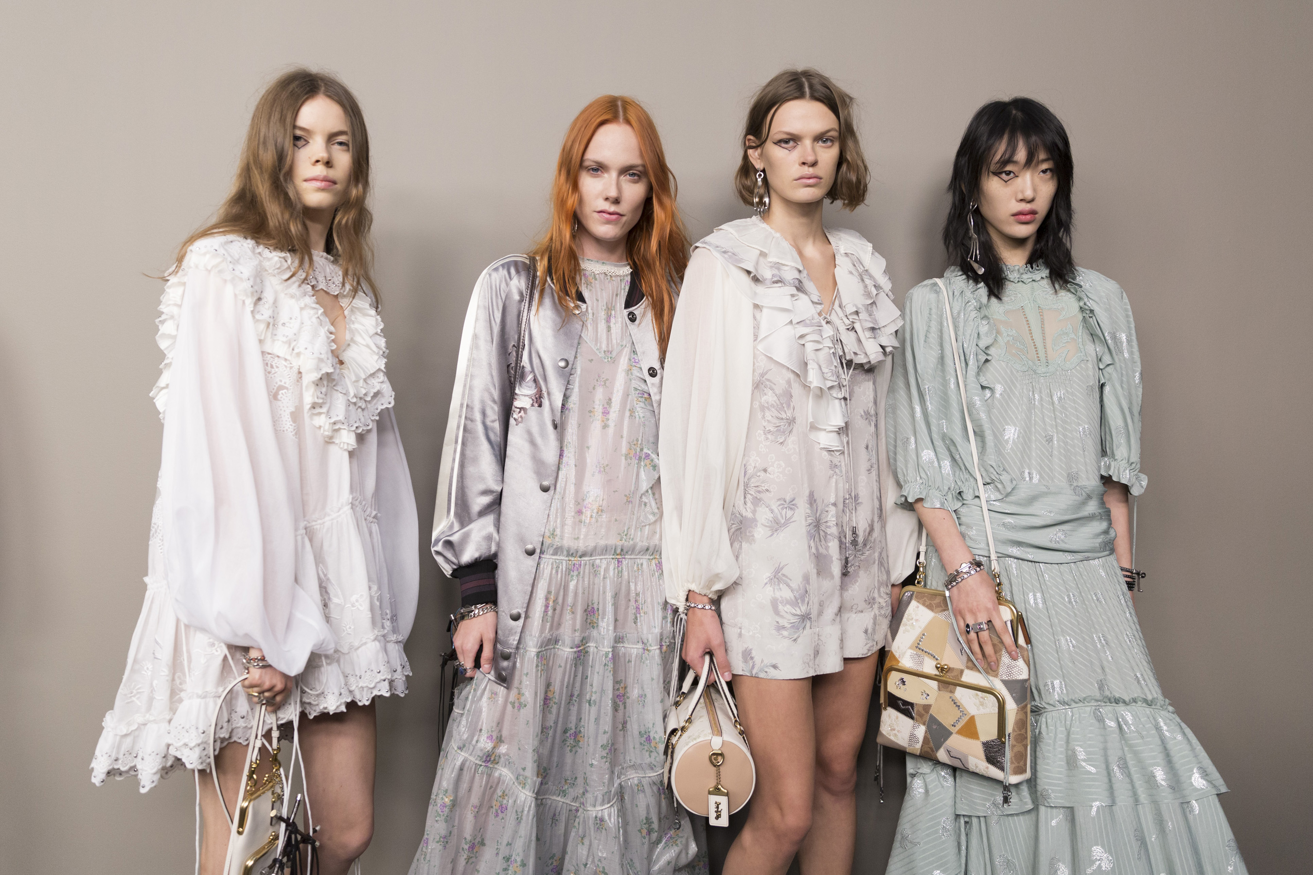 Coach 1941 Spring 2019 Fashion Show Backstage