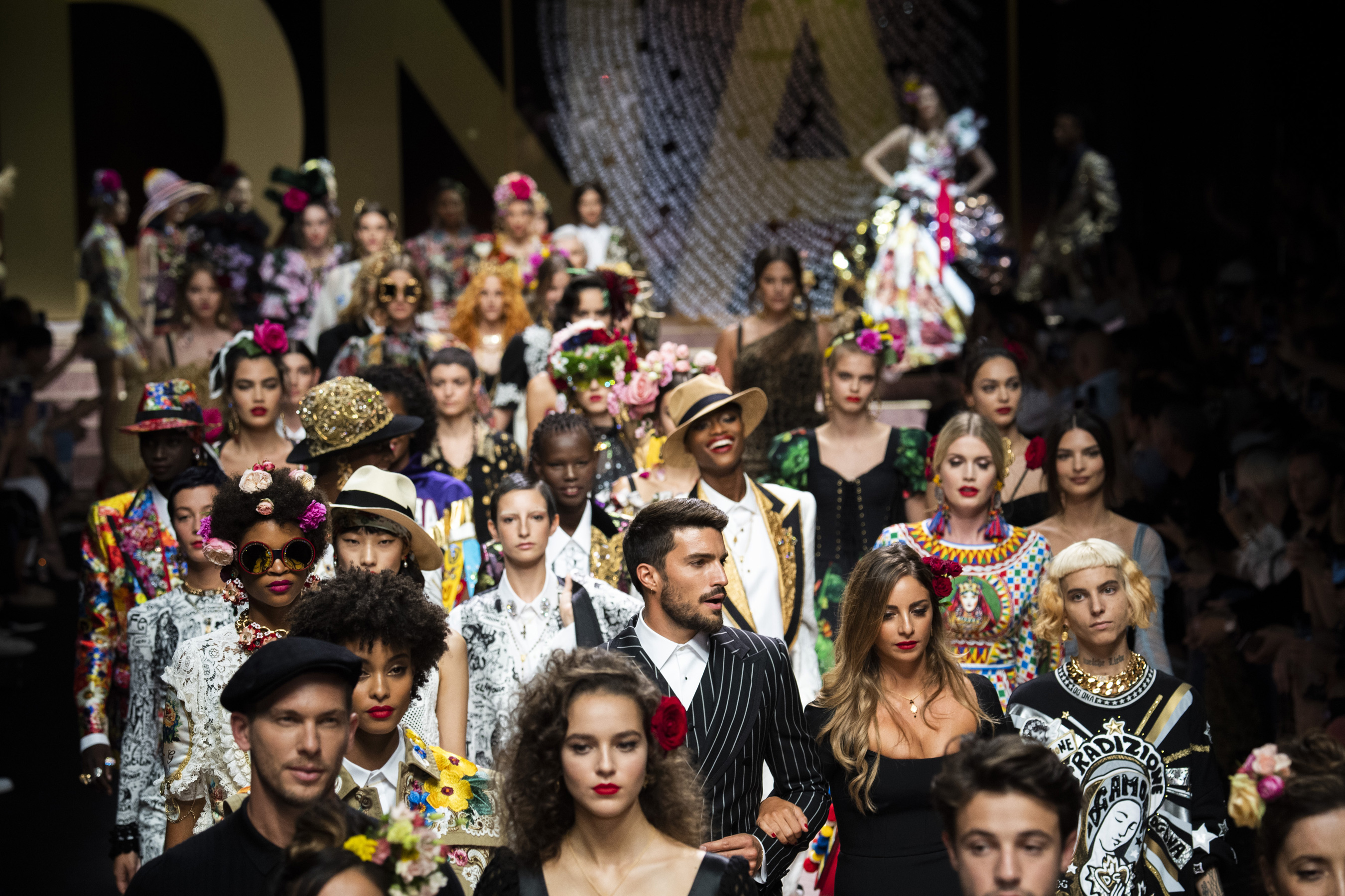 Dolce & Gabbana Spring 2019  Fashion Show Atmosphere