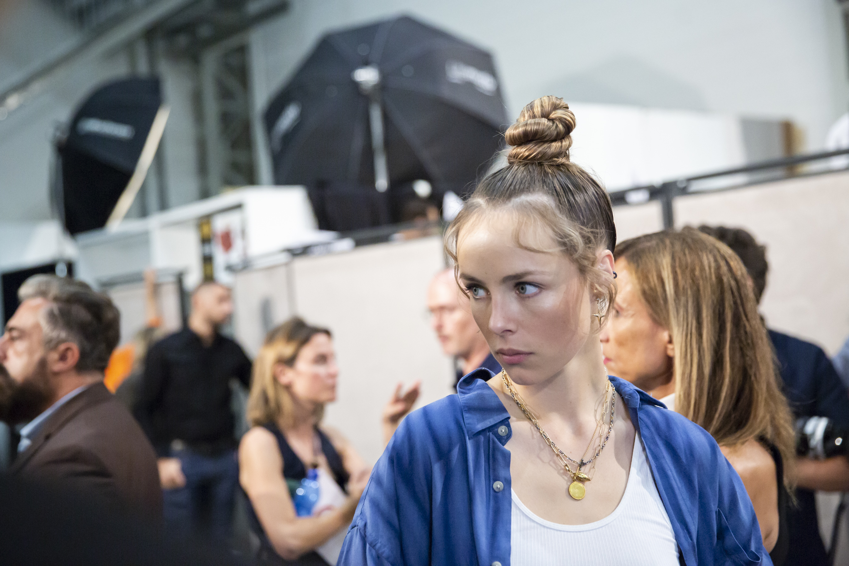 Fendi Spring 2019  Fashion Show Backstage