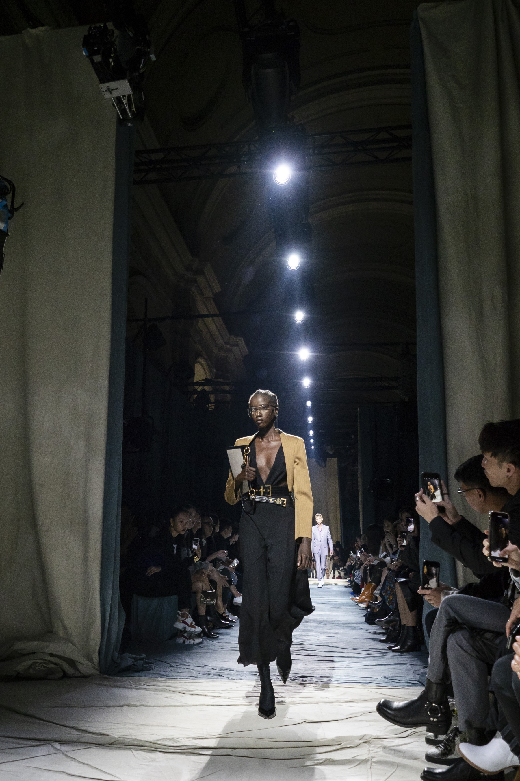 Givenchy Spring 2019  Fashion Show Atmosphere