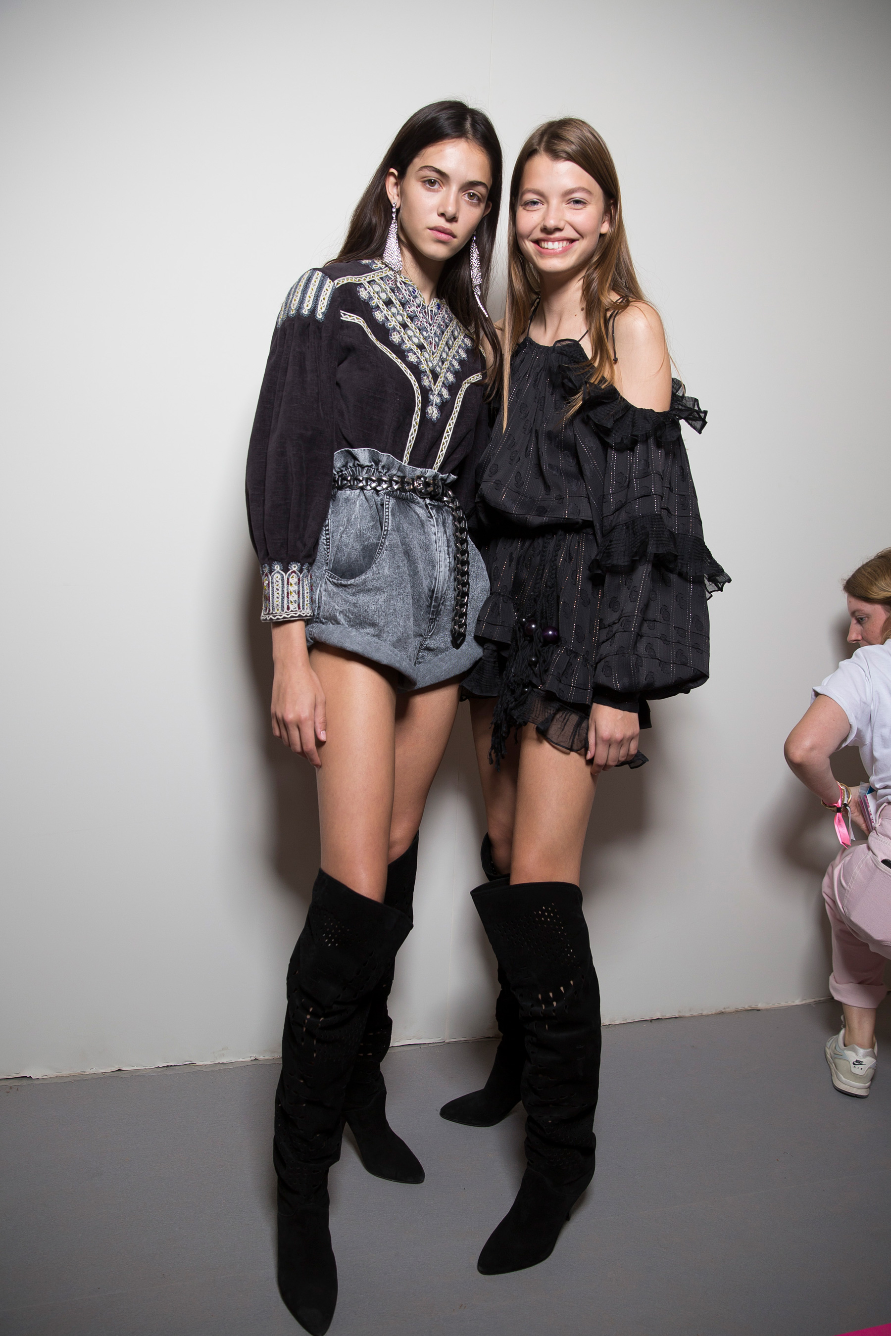 Isabel Marant Spring 2019  Fashion Show Backstage