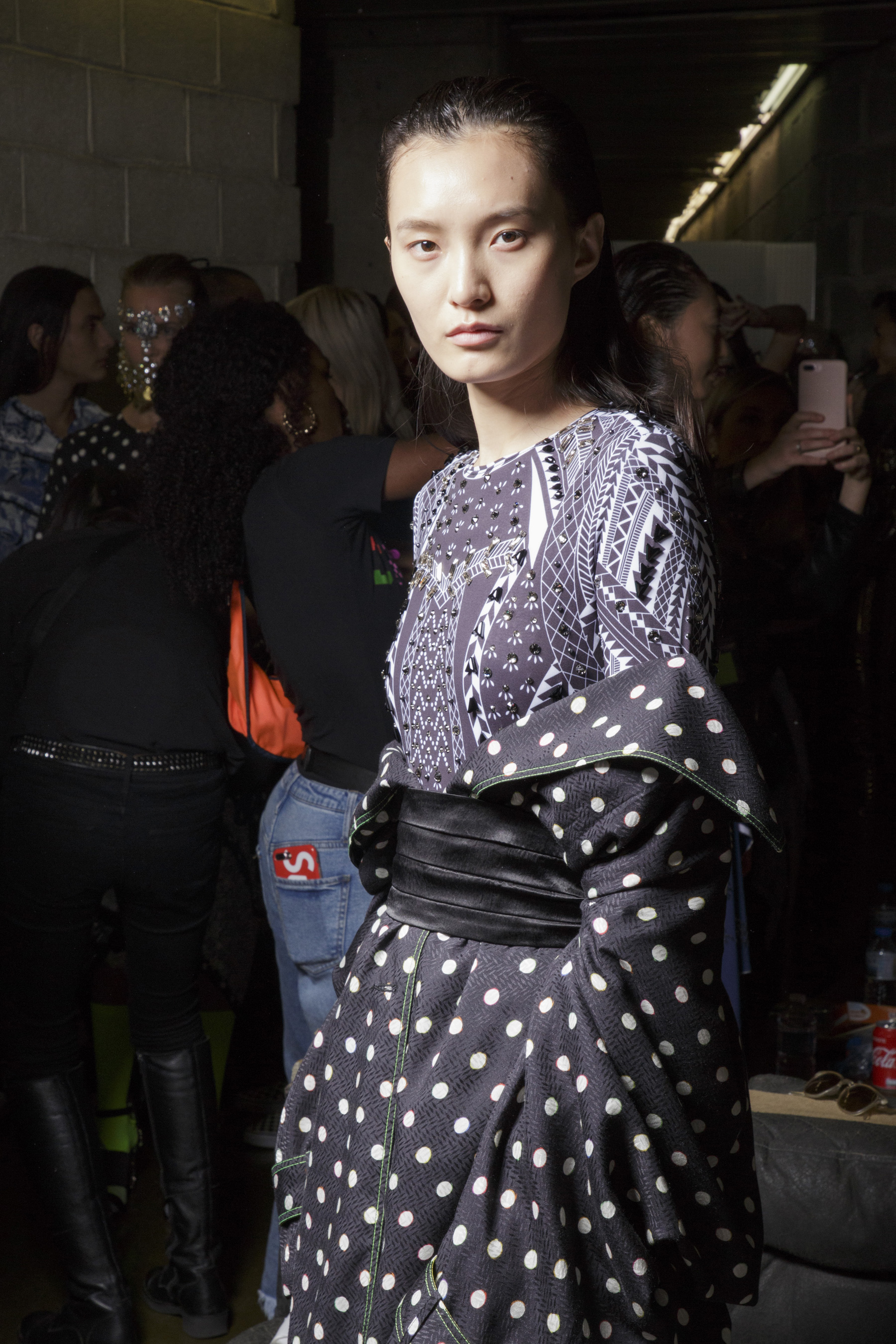 Koche Spring 2019  Fashion Show Backstage