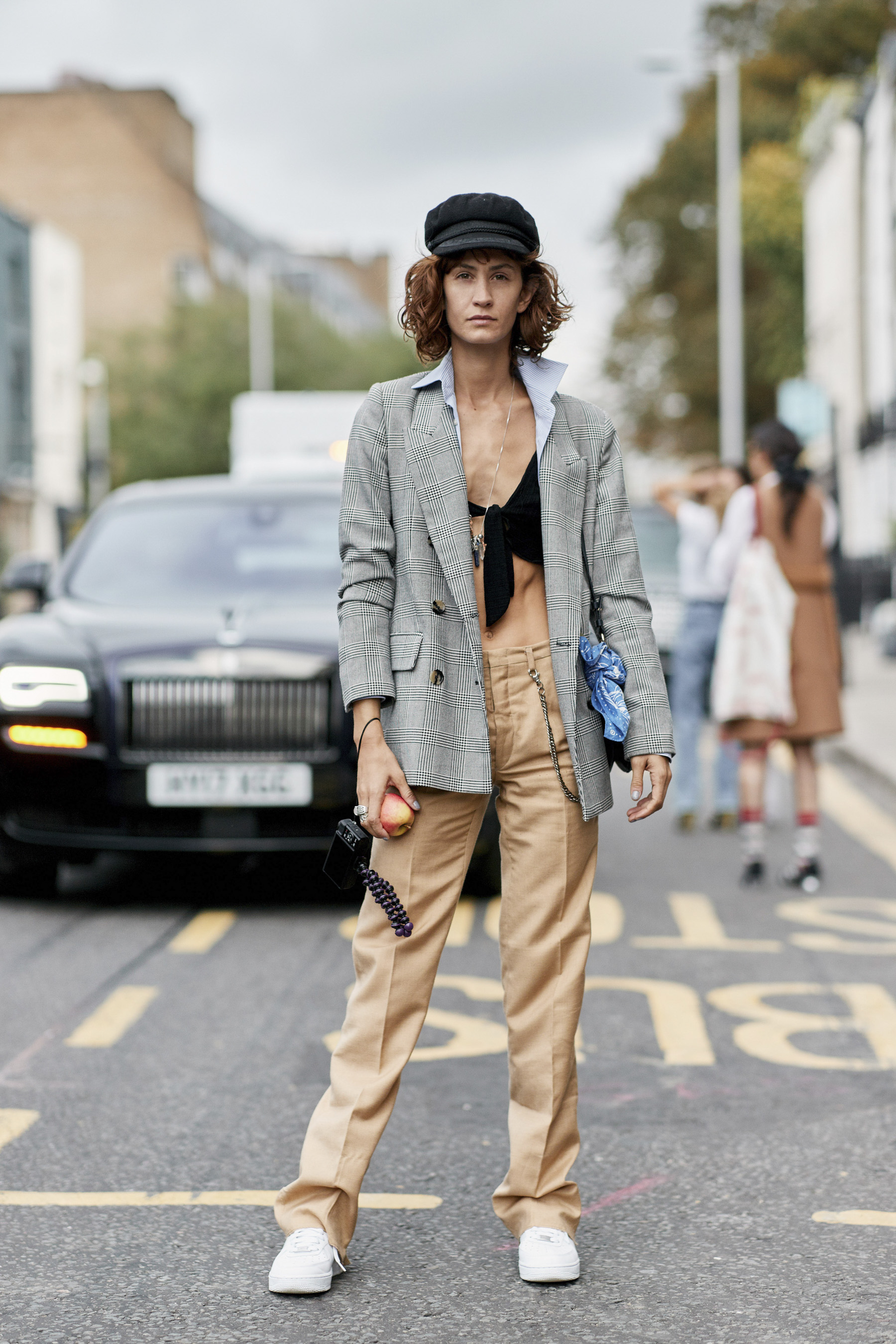 London Fashion Week Street Style Accessories Spring 2019 Day 5
