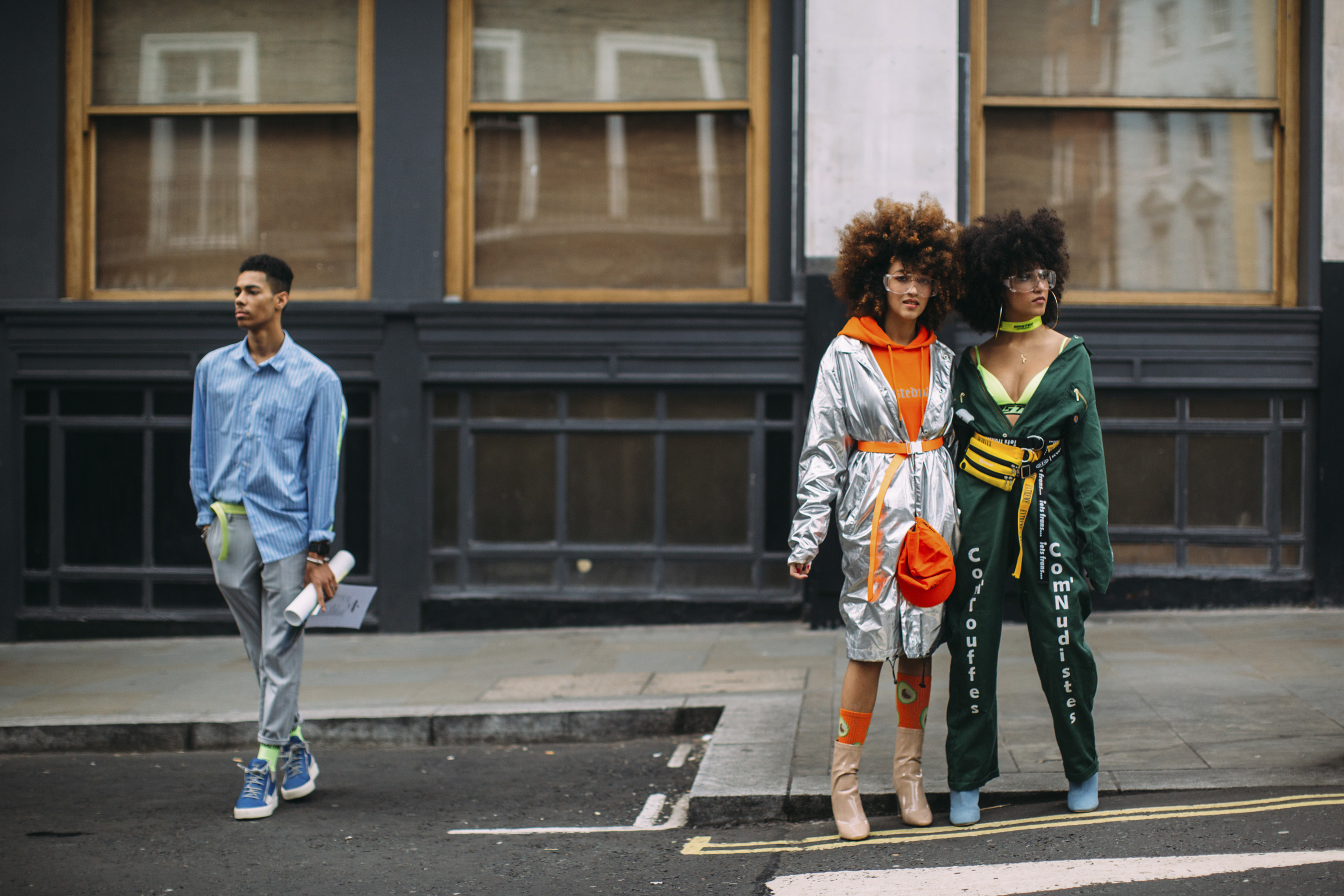 ondon Fashion Week Street Style Spring 2019 Day 1