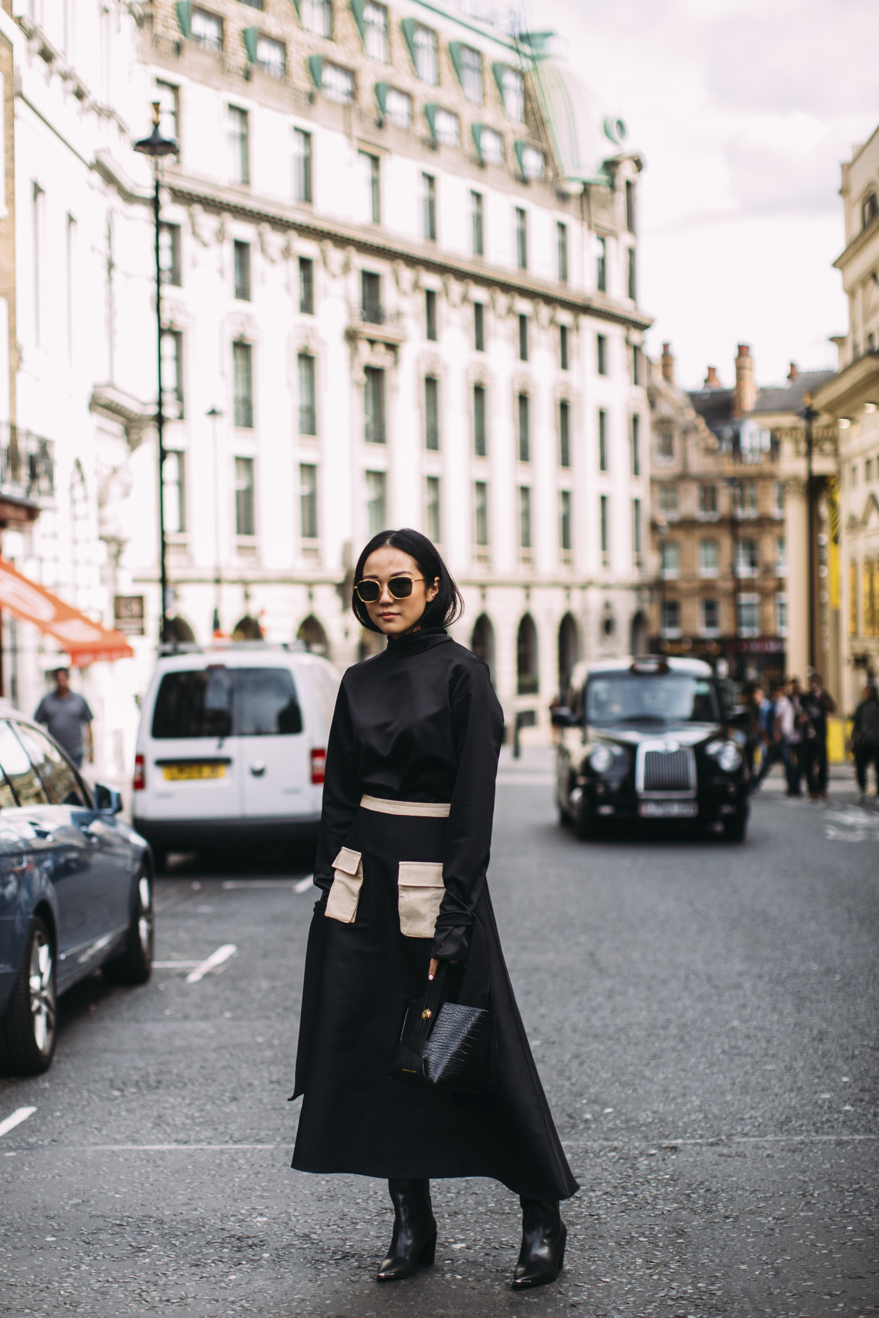 London Fashion Week Street Style Spring 2019 Day 2