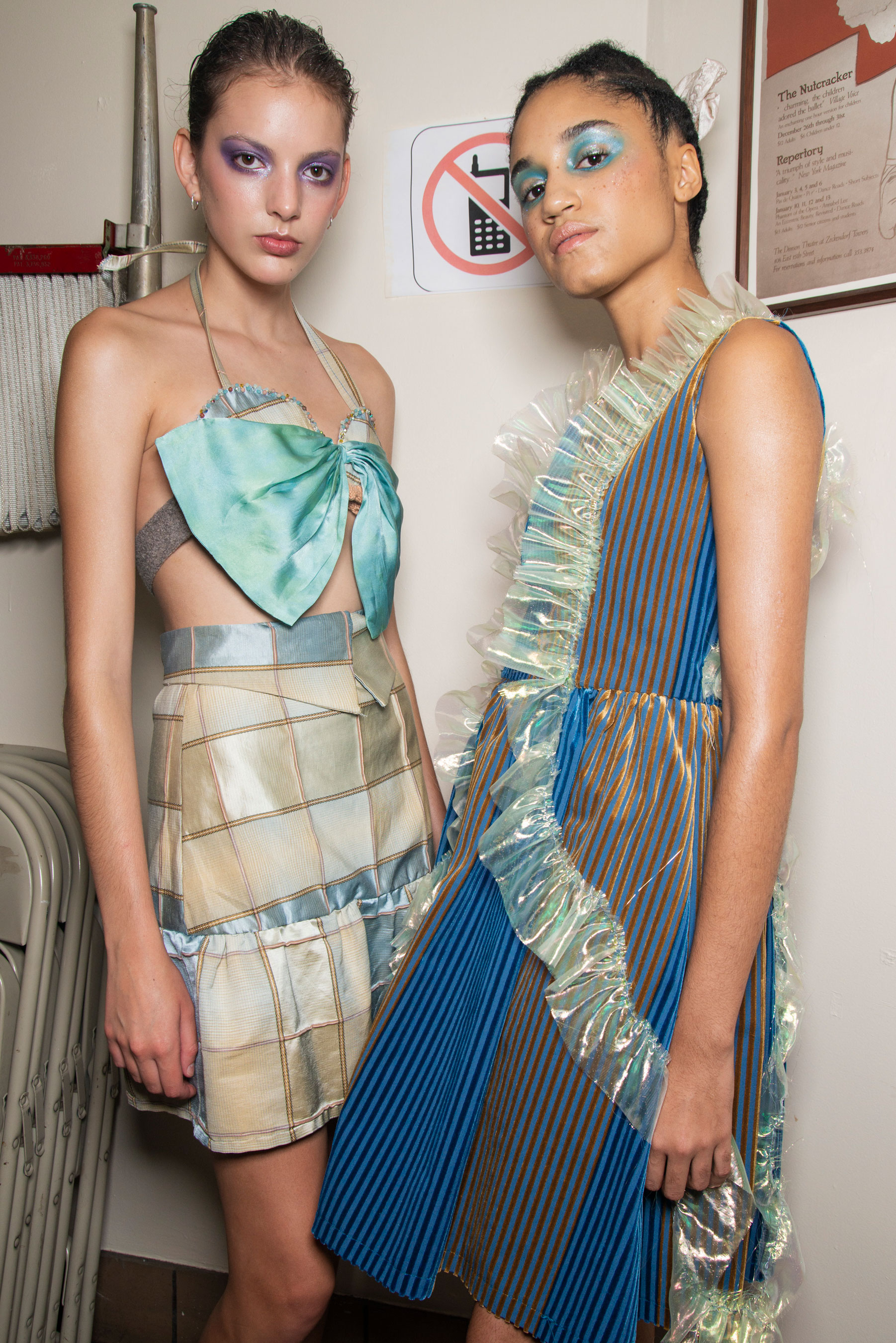 Lou Dallas Spring 2019 Fashion Show Backstage