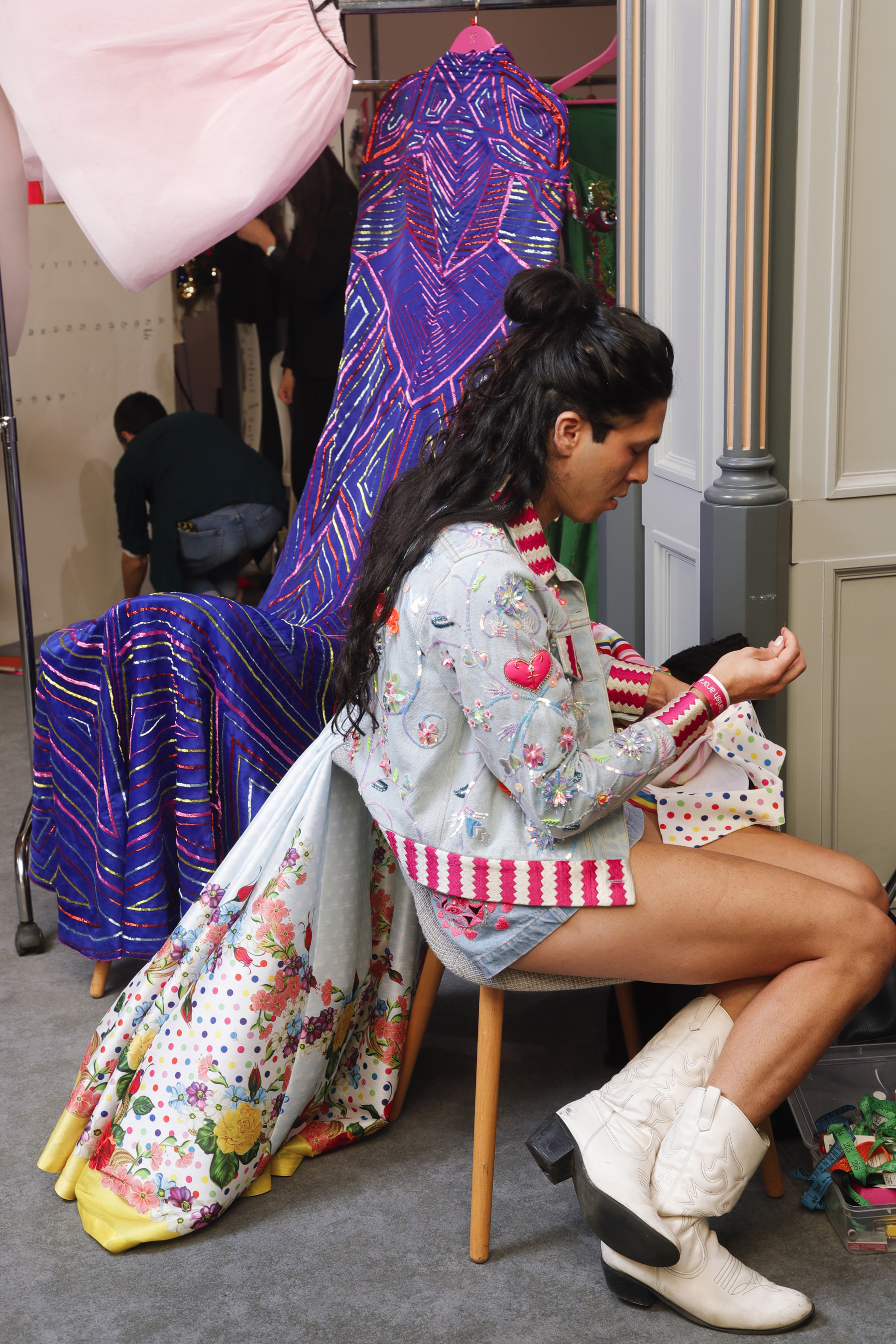 Manish Arora  Ter Spring 2019  Fashion Show Backstage