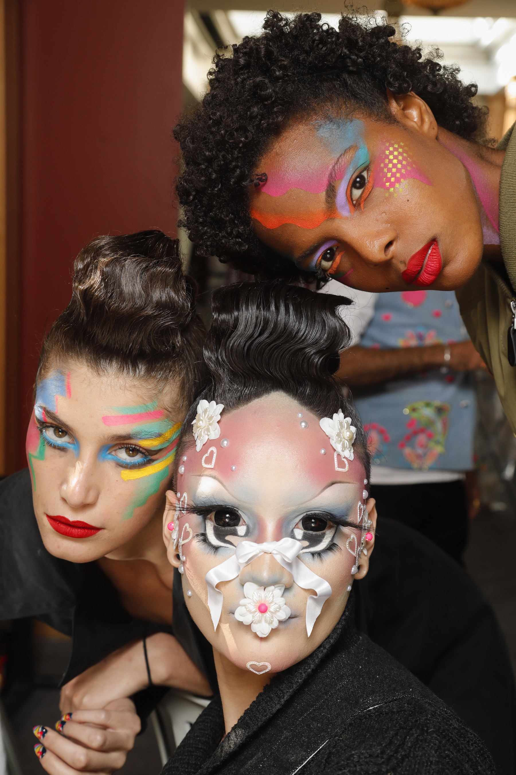 Manish Arora Ter Spring 2019 Fashion Show Backstage Beauty Cont.