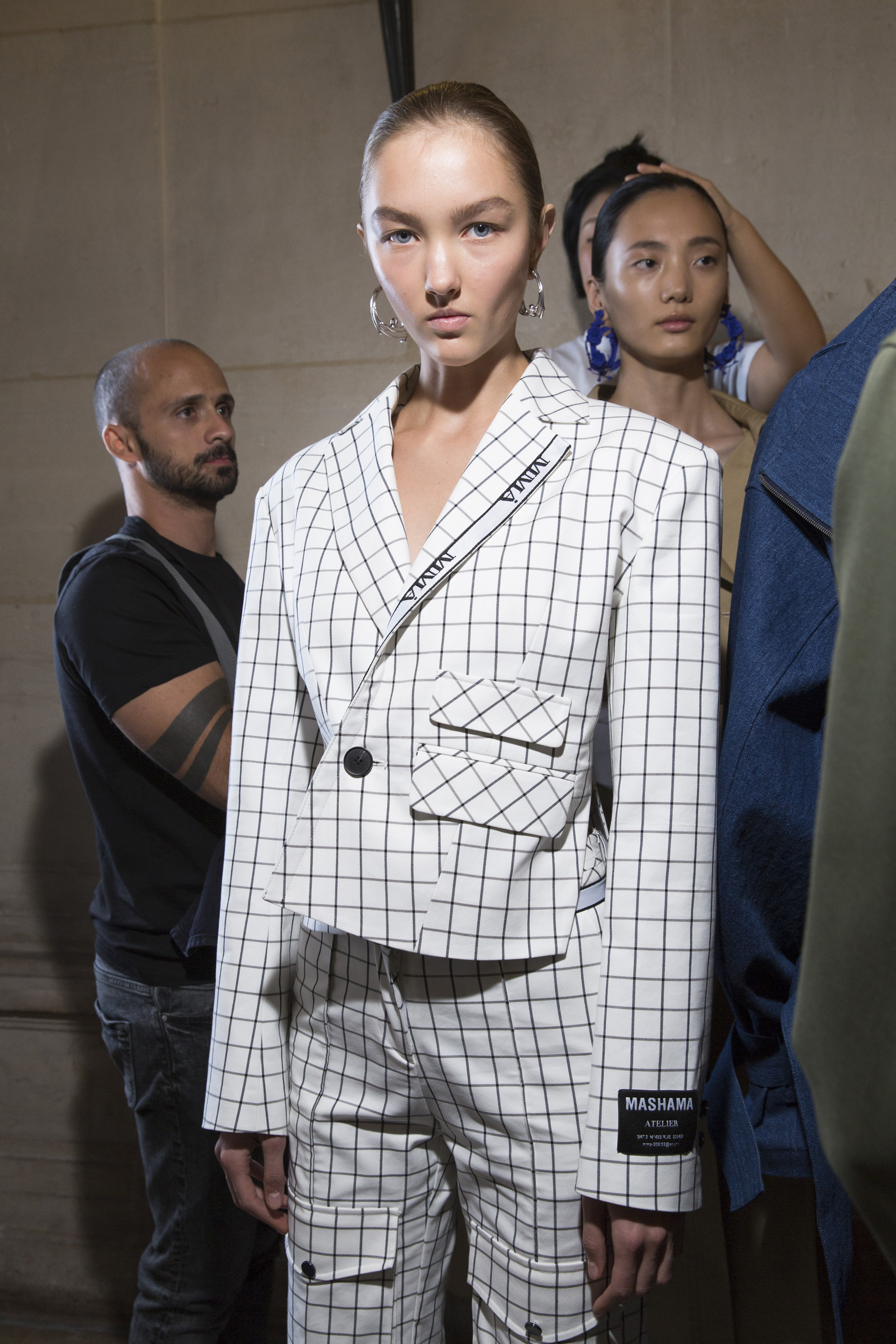 Mashama Spring 2019  Fashion Show Backstage