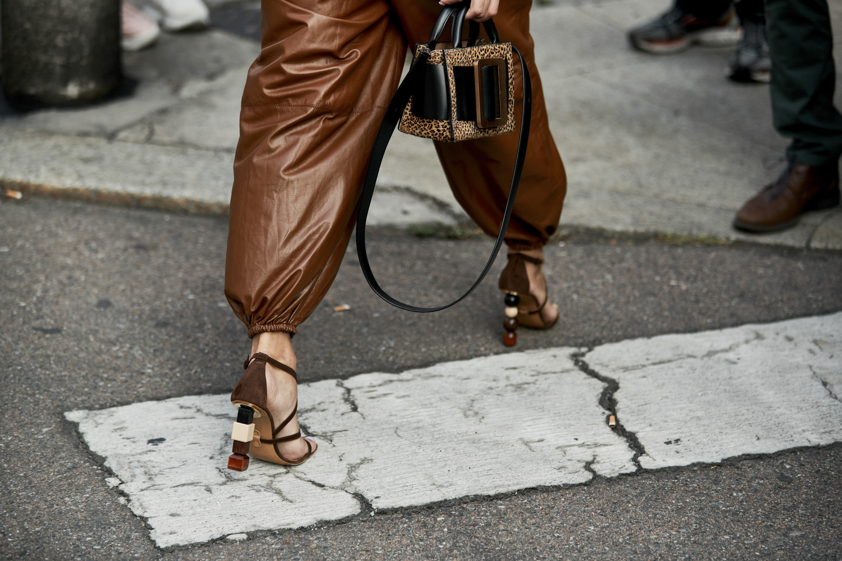 Milan Fashion Week Street Style Accessories Spring 2019 Day 2