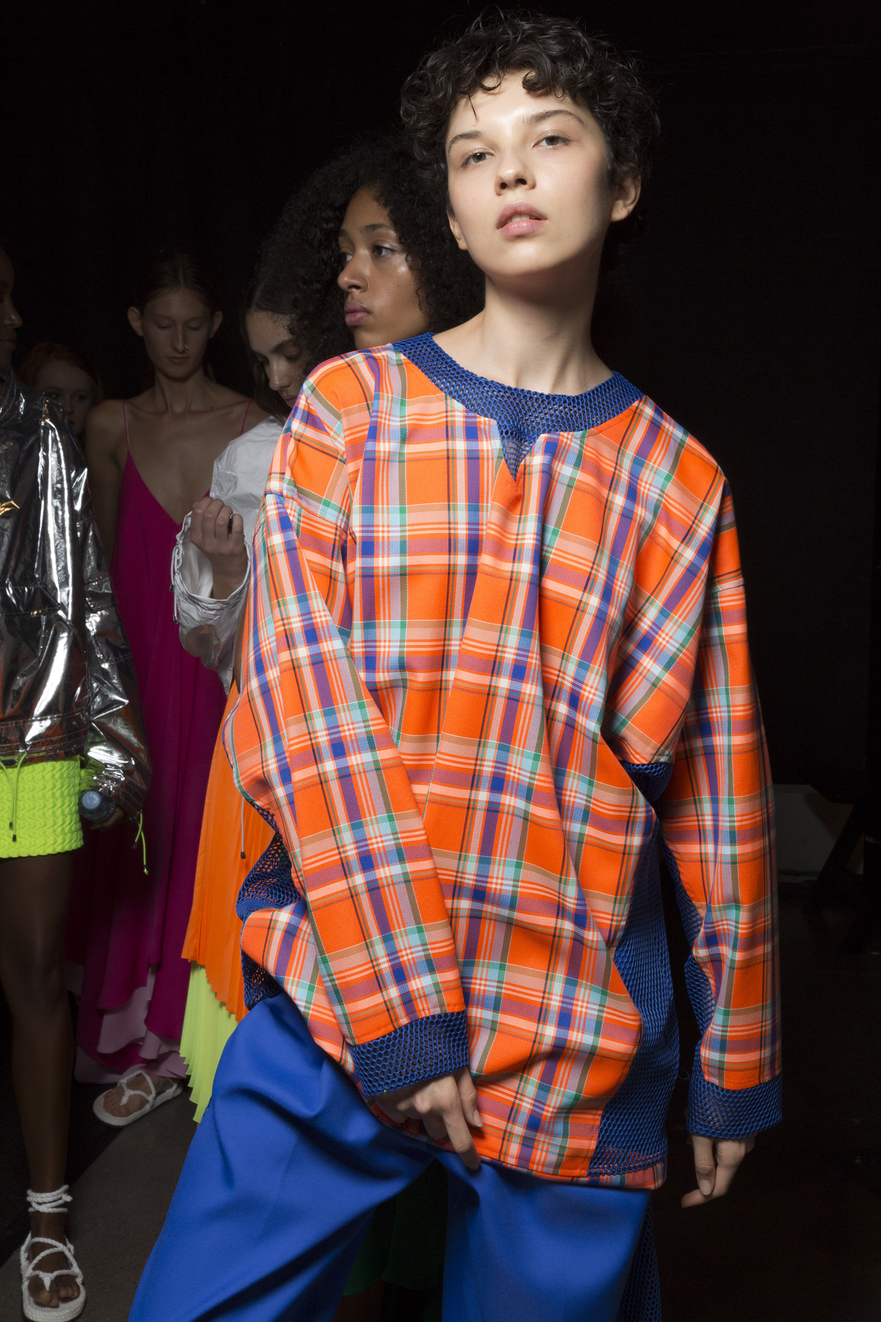 Milly Spring 2019 Fashion Show Backstage