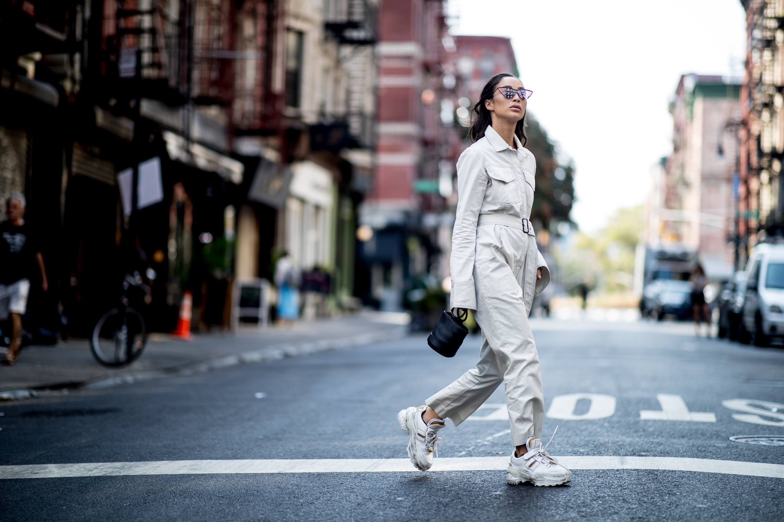 New York Fashion Week Street Style Spring 2019 Day 1