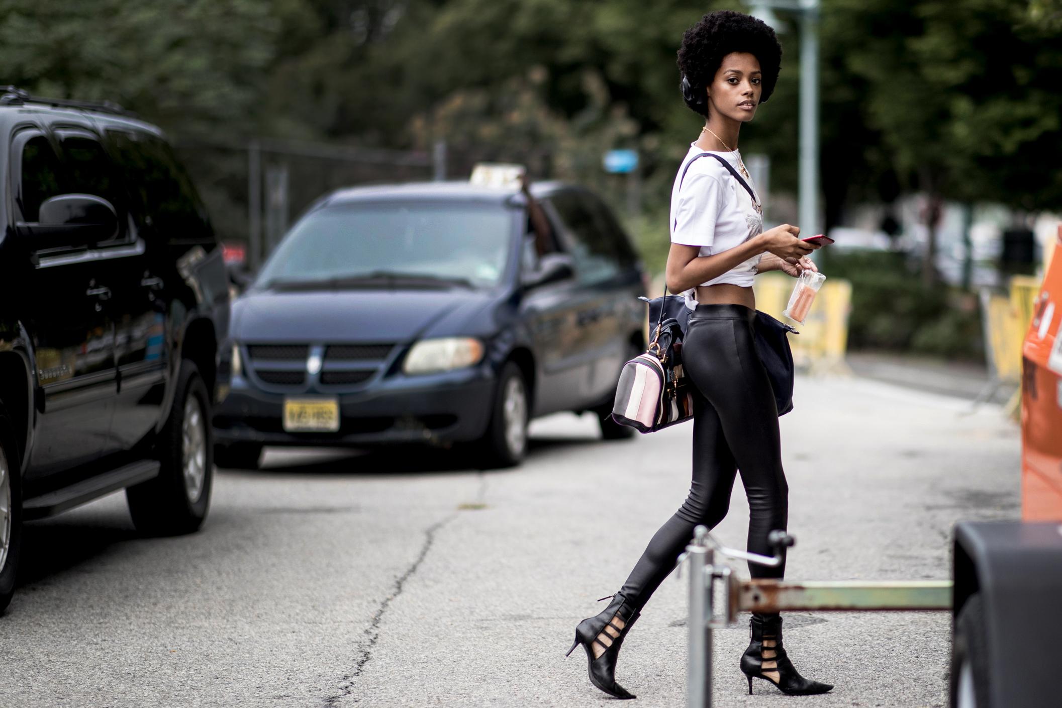 New York Fashion Week Street Style Spring 2019 Day 7