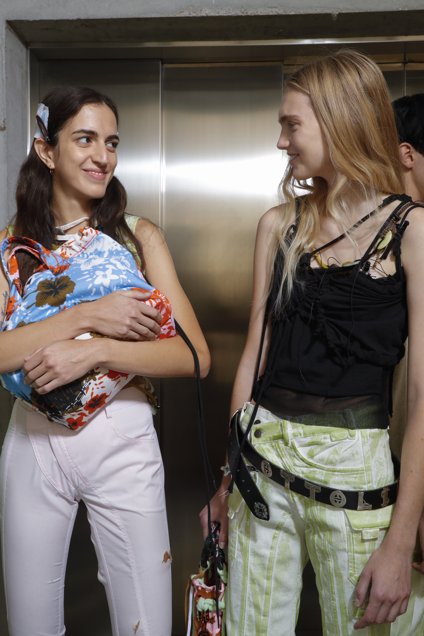 Ottolinger  Bis Spring 2019  Fashion Show Backstage
