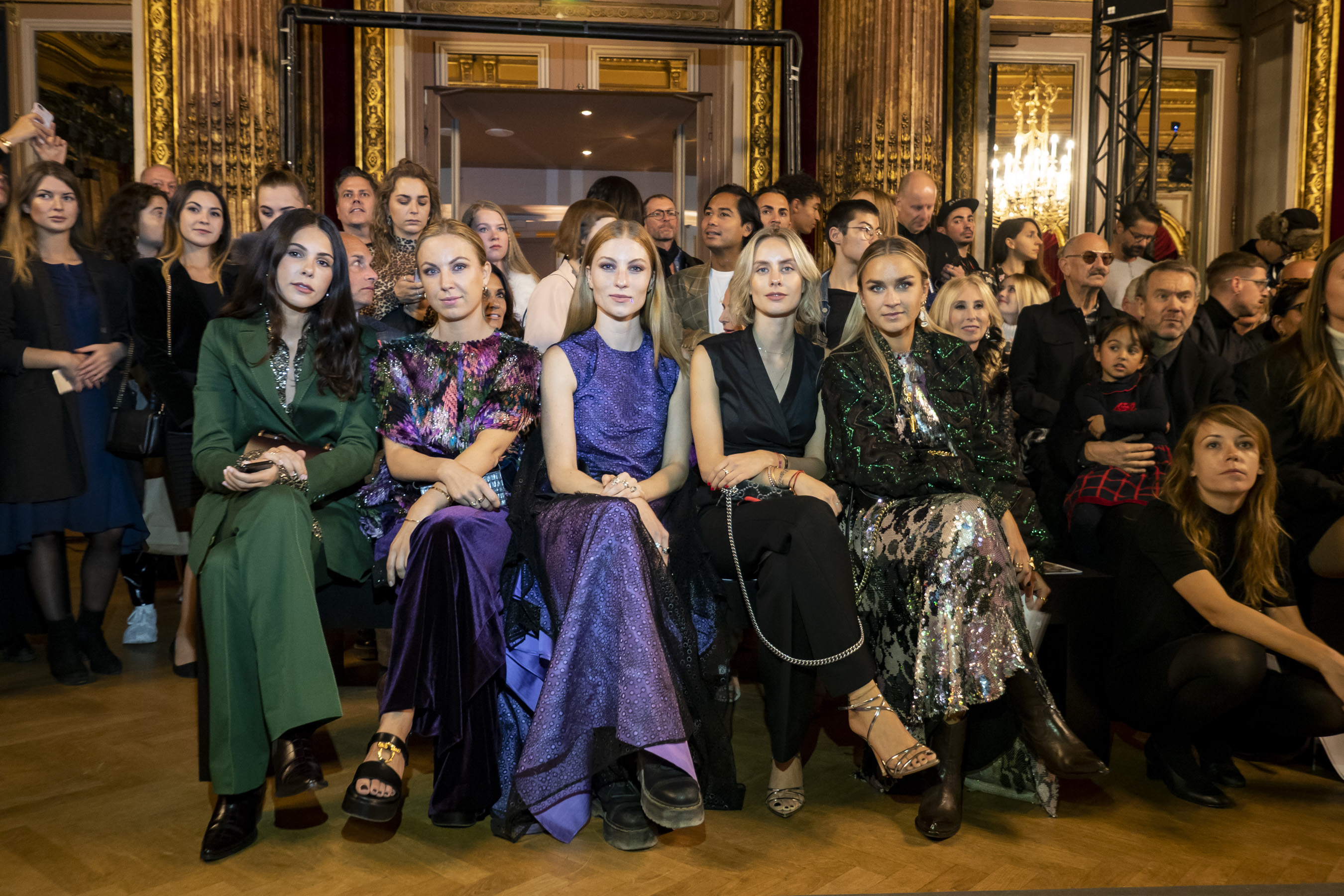 Talbot Runhof Spring 2019  Fashion Show Atmosphere