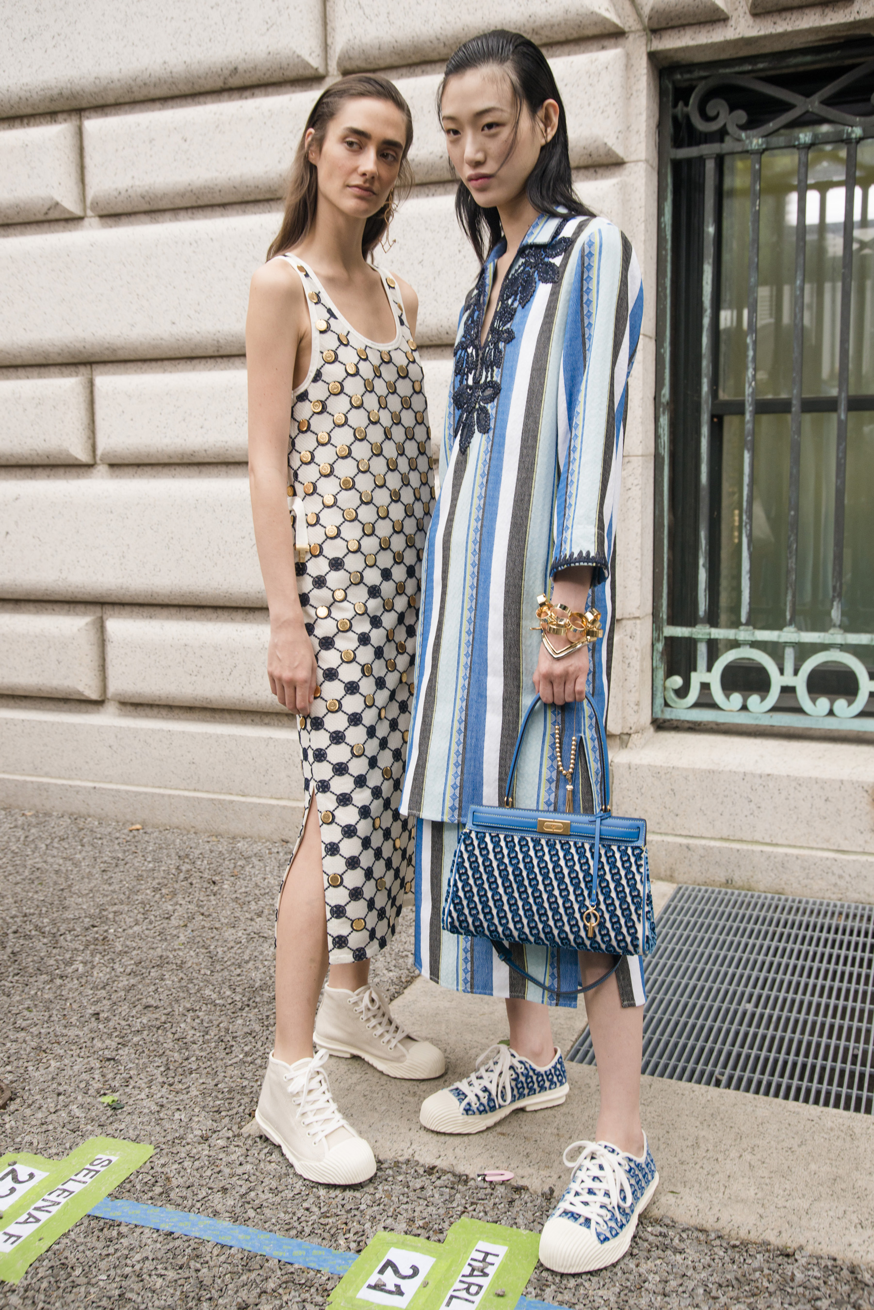 1d165912cebf Tory Burch Spring 2019 Fashion Show Backstage - The Impression