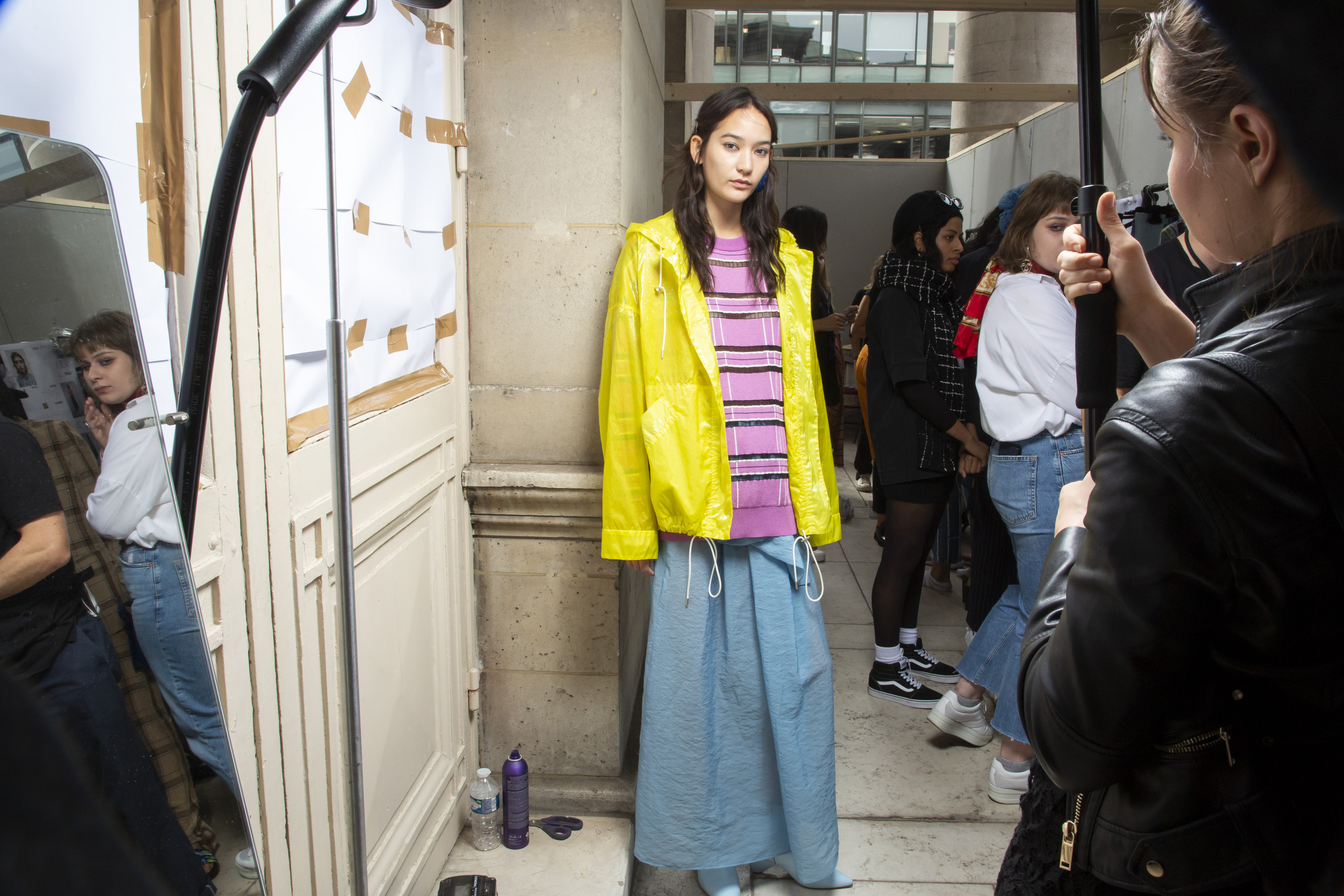 Christian Wijnants Spring 2019  Fashion Show Backstage