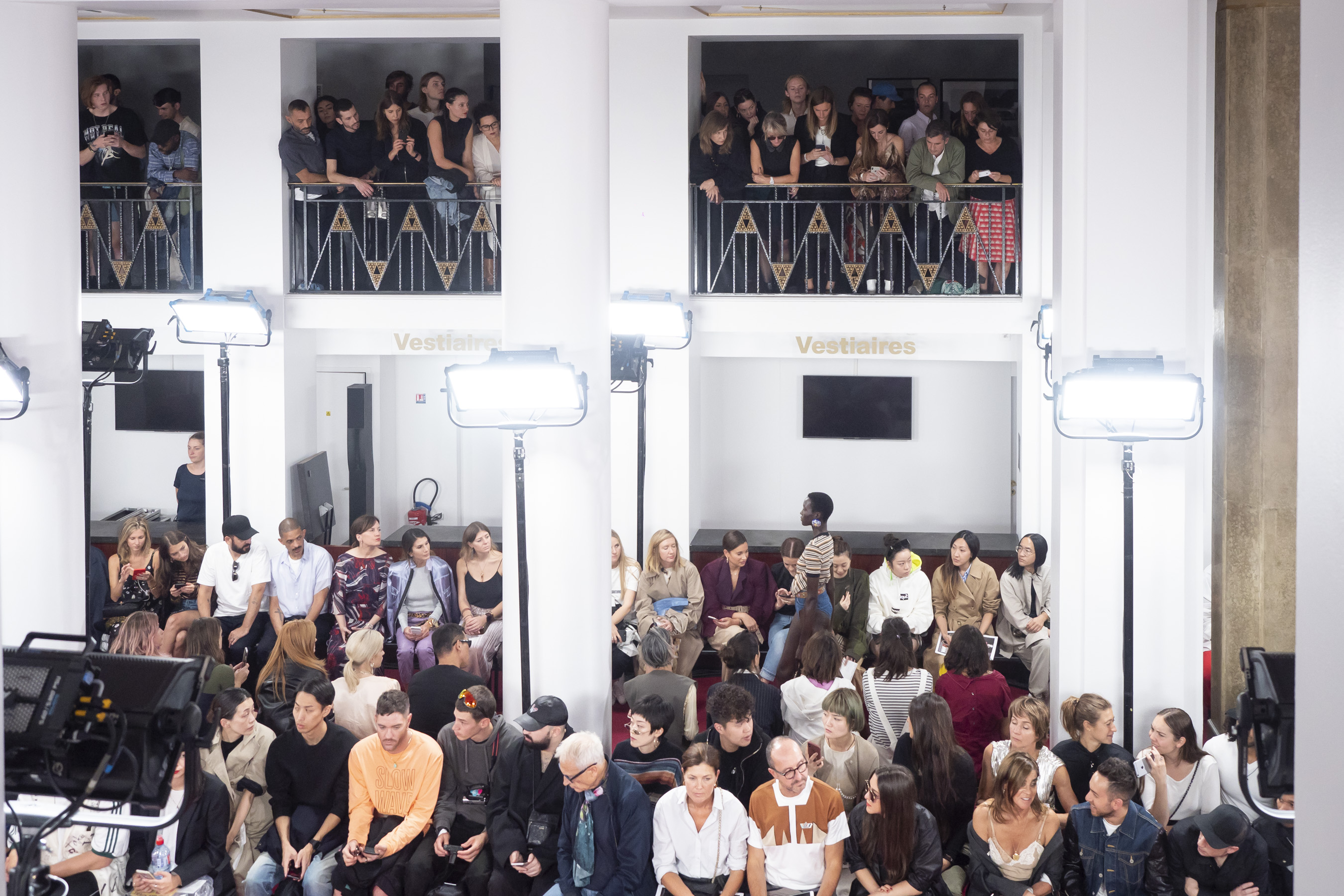 Y Project Spring 2019  Fashion Show Atmosphere