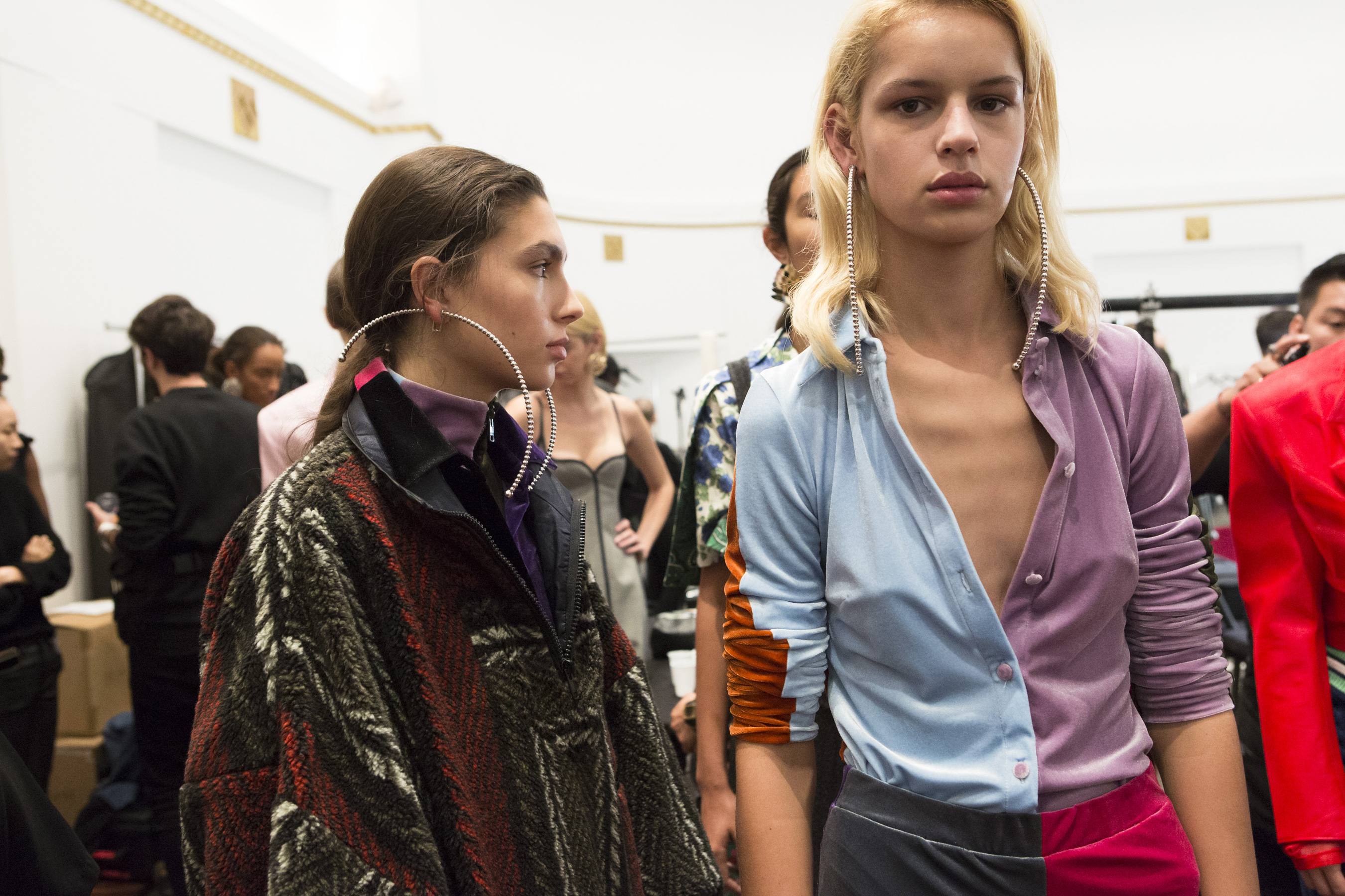Y Project Spring 2019  Fashion Show Backstage