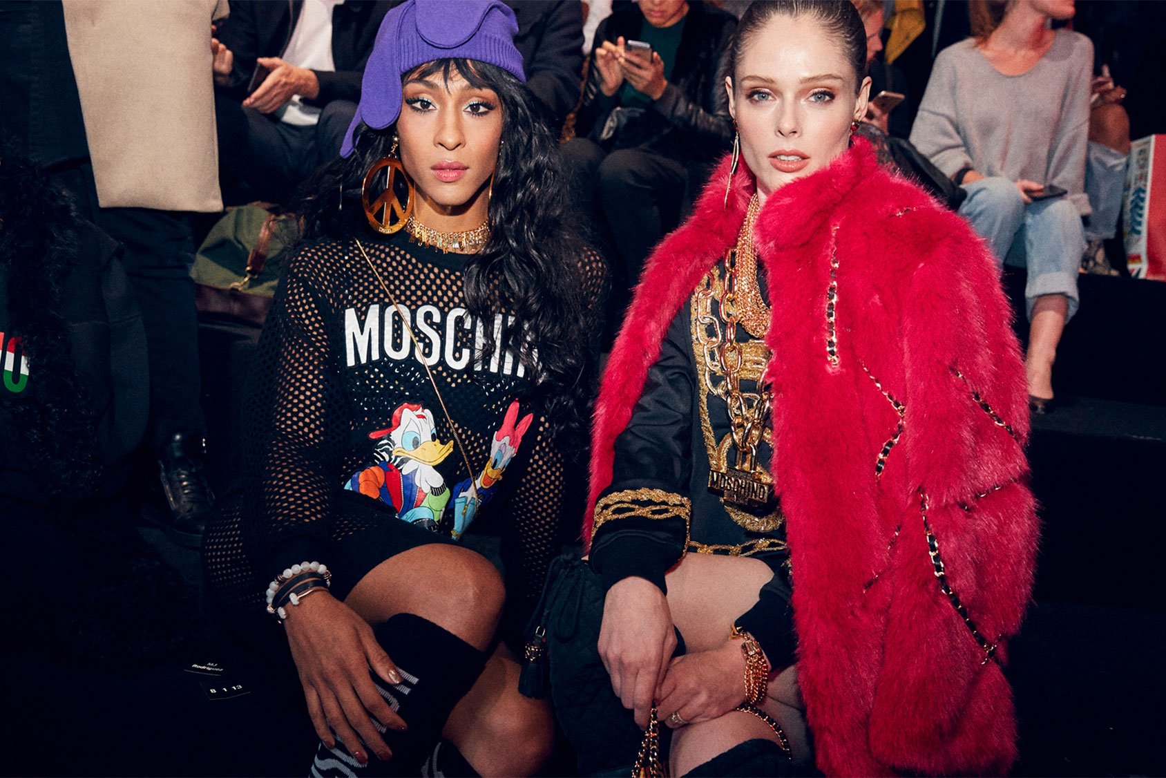 MOSCHINO [tv] H&M Holiday 2018 Fashion Show Atmosphere by Jeremy Scott