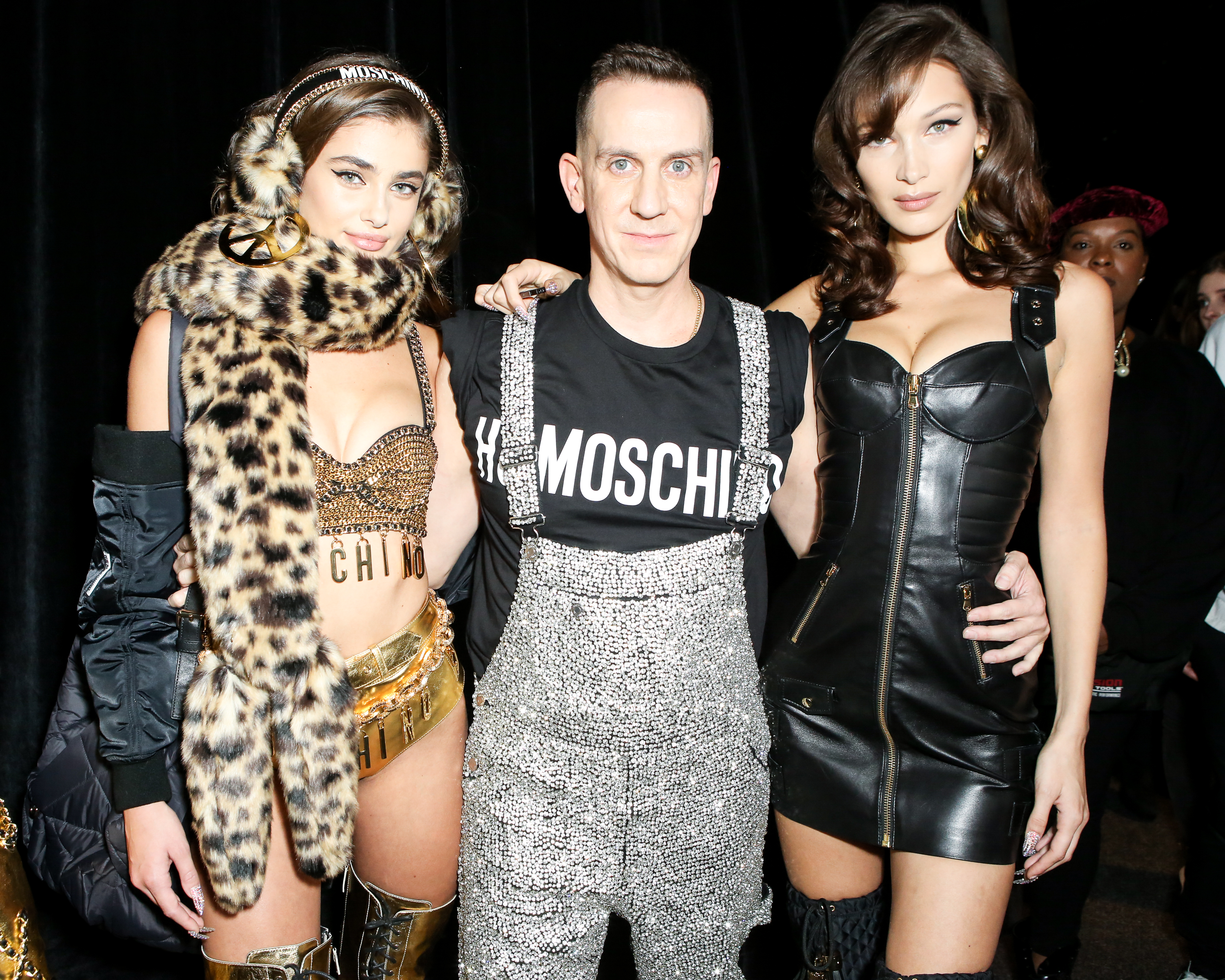 MOSCHINO [tv] H&M Holiday 2018 Fashion Show Backstage by Jeremy Scott