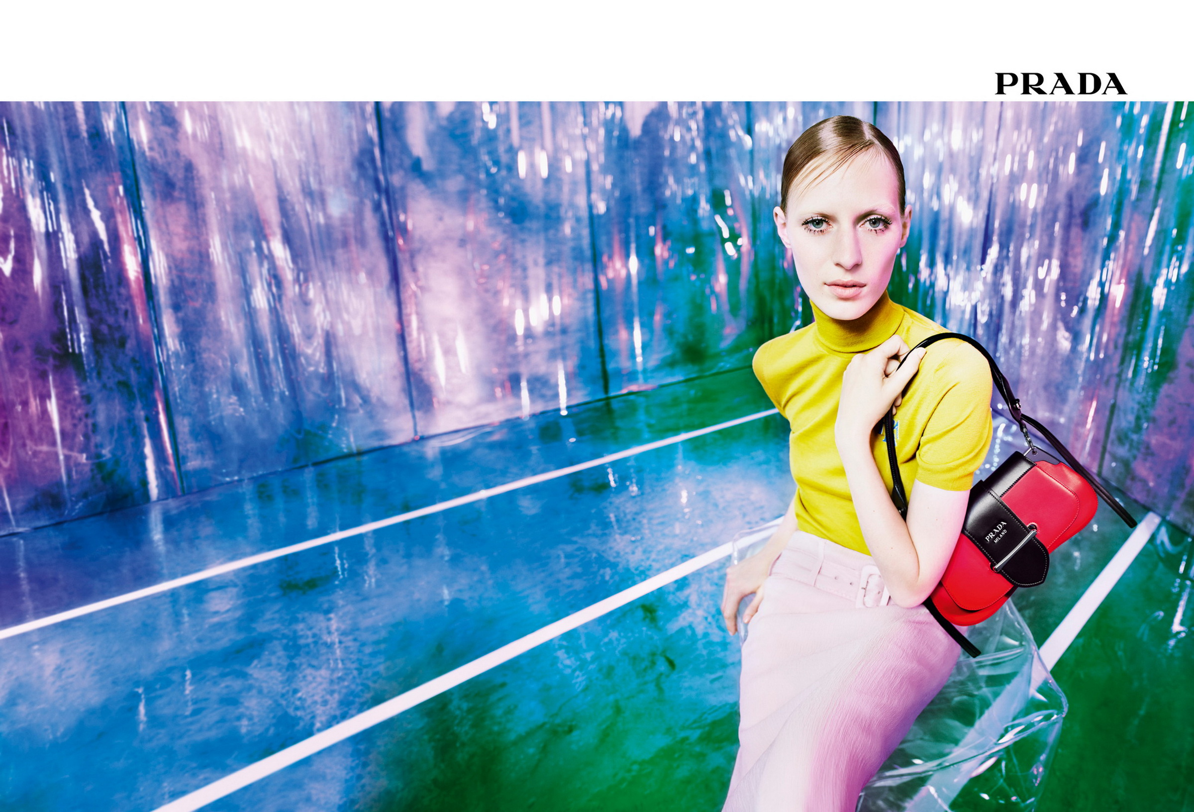 Prada Resort 2019 Ad Campaign by Willy Vanderperre