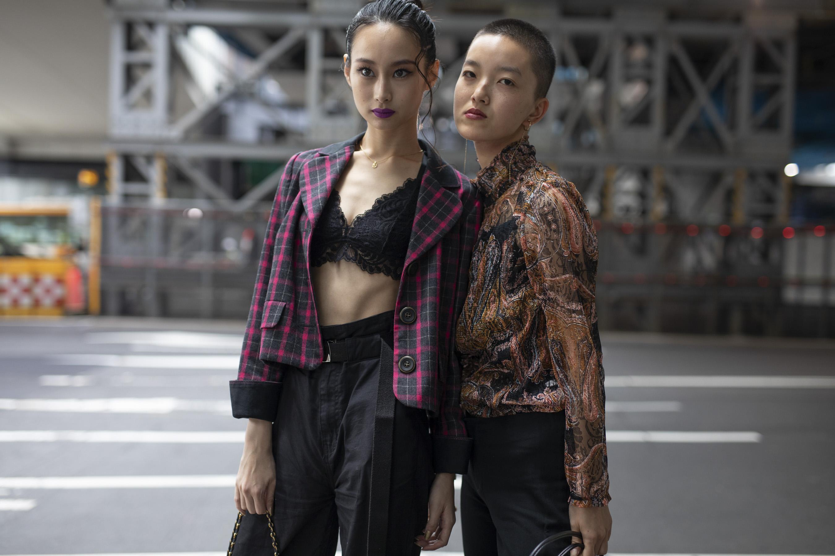 Tokyo Fashion Week Street Style Spring 2019 Day 1